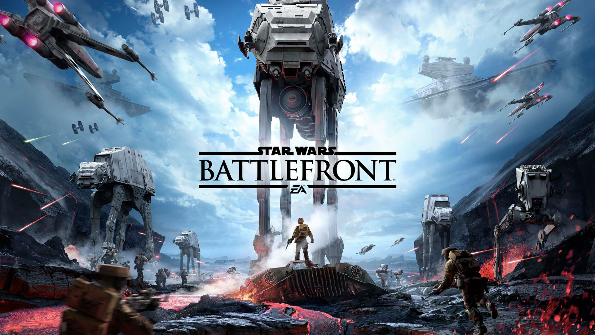 Free Star Wars: Battlefront Wallpaper in 1920x1080