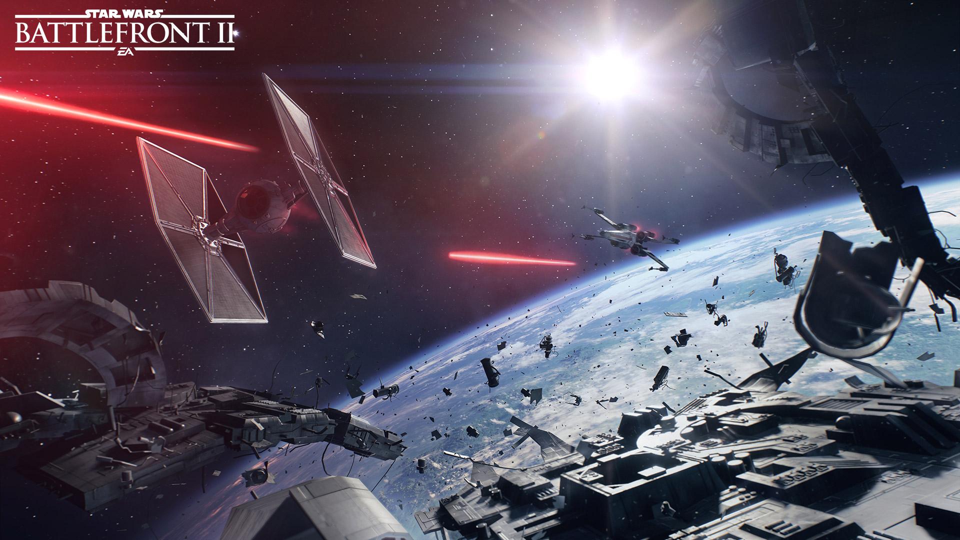 Free Star Wars: Battlefront II Wallpaper in 1920x1080