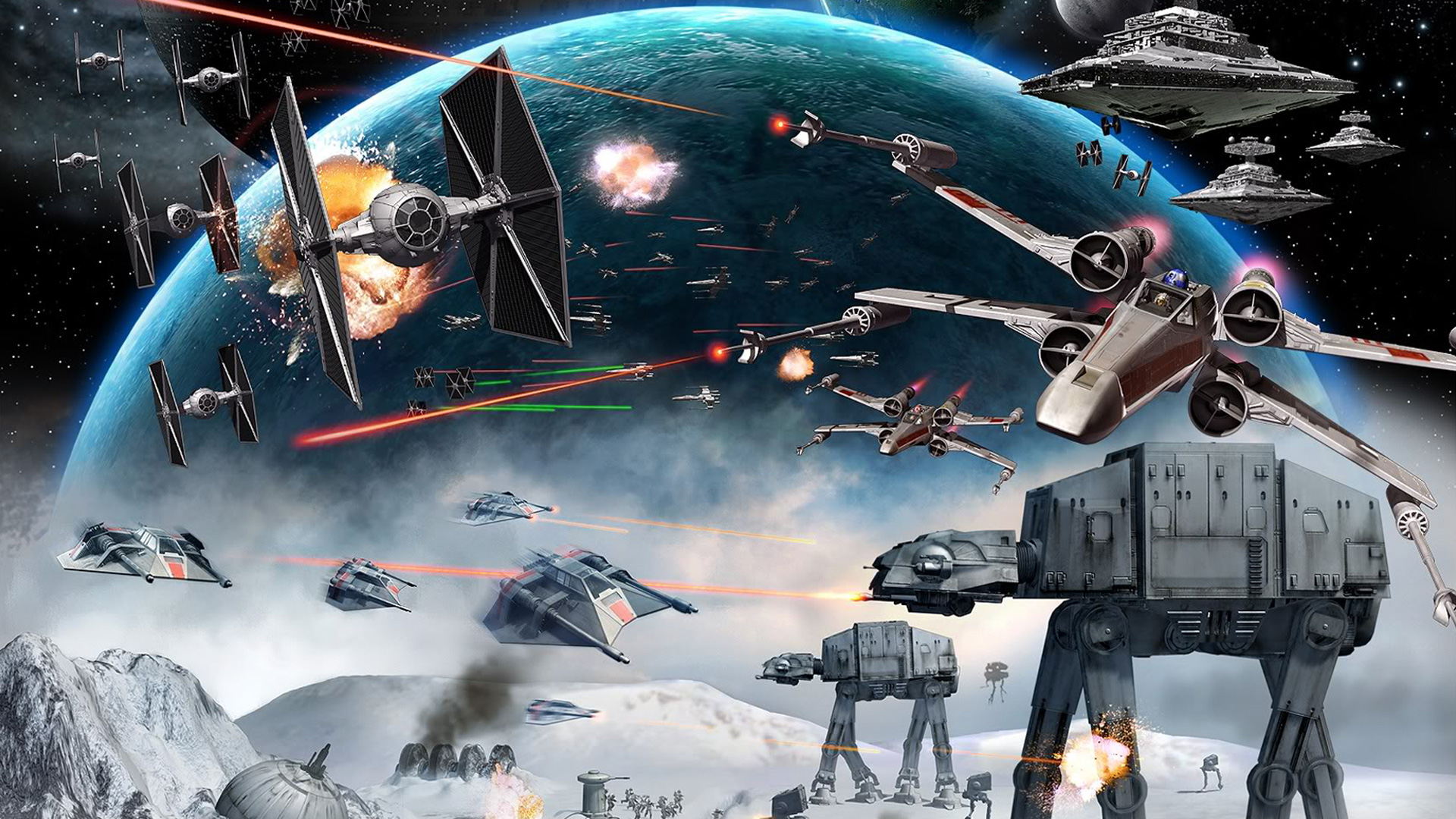 Free Star Wars Empire At War Wallpaper In 1920x1080