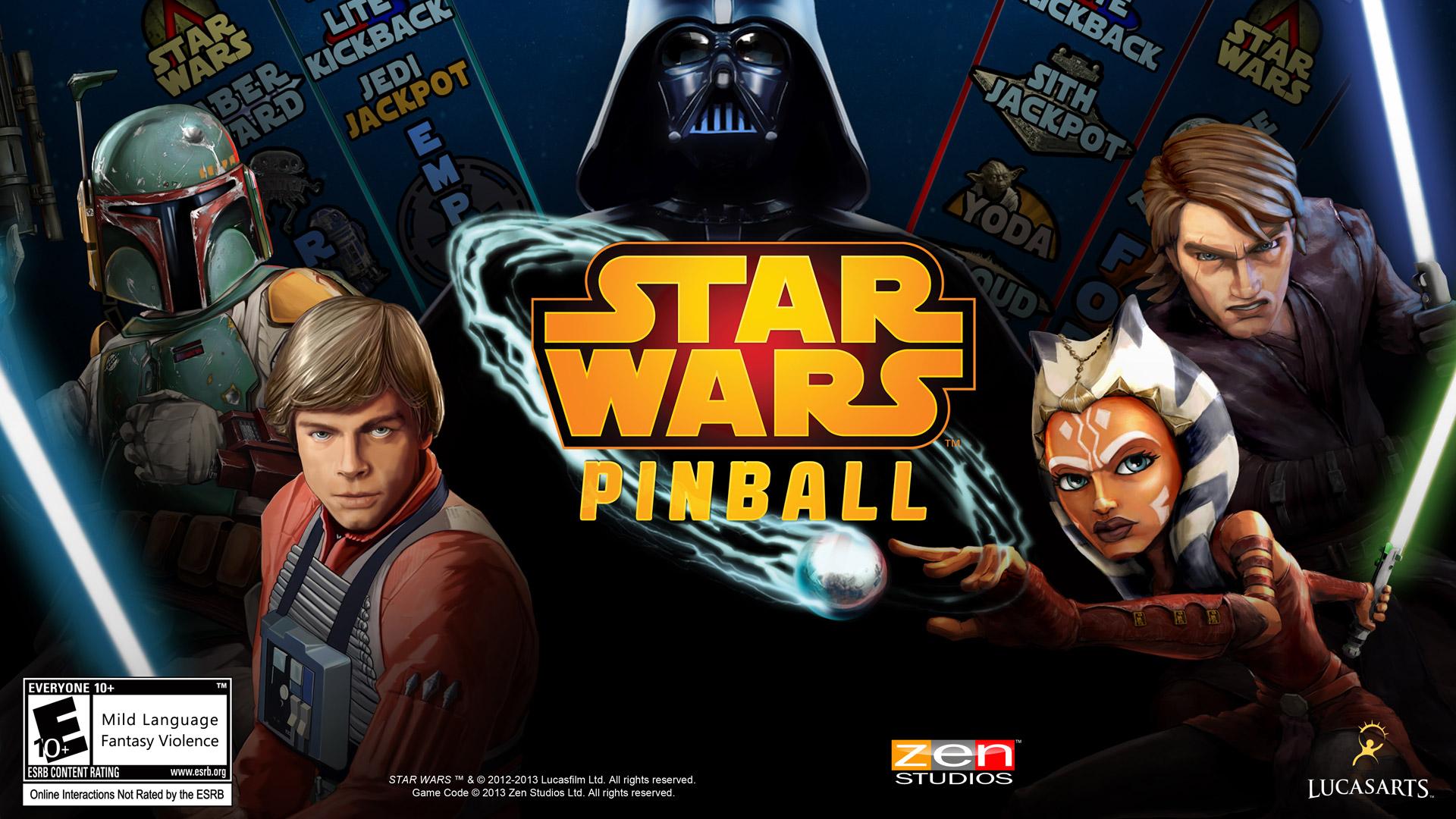 Free Star Wars Pinball Wallpaper in 1920x1080