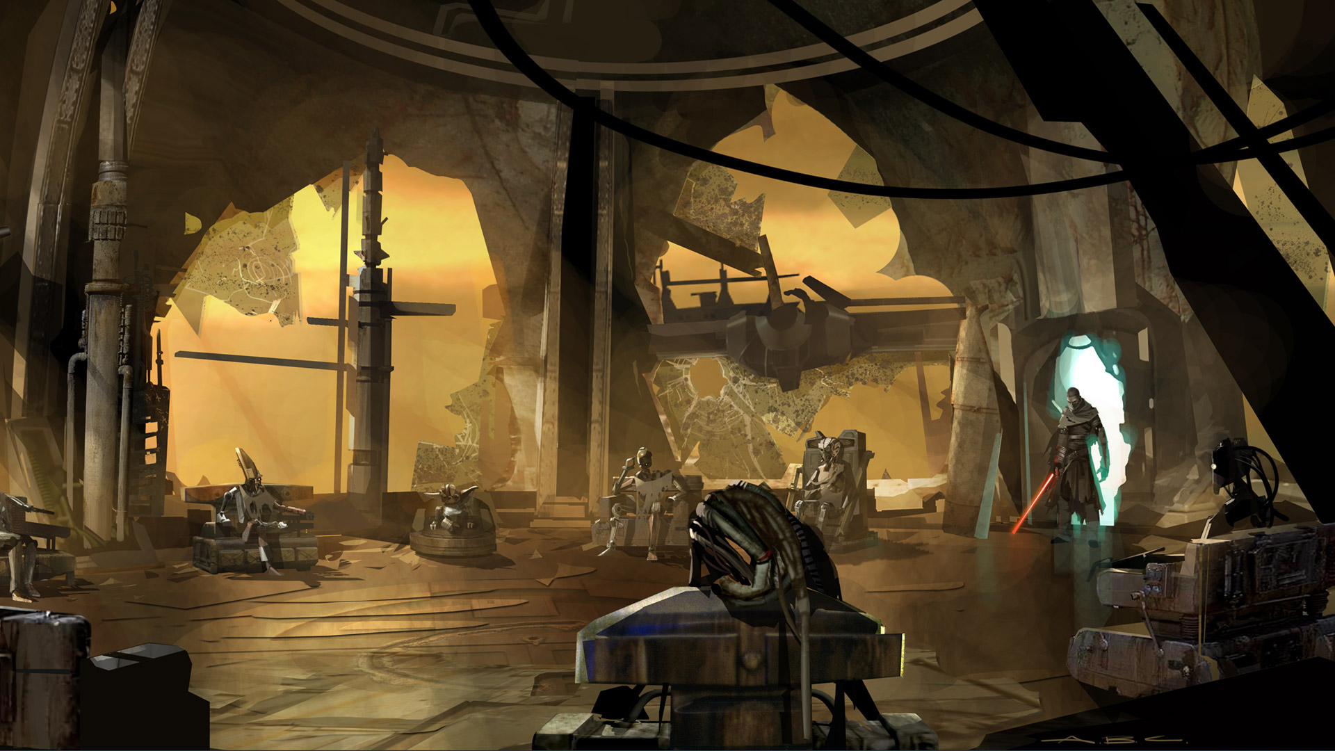 Free Star Wars: The Force Unleashed Wallpaper in 1920x1080