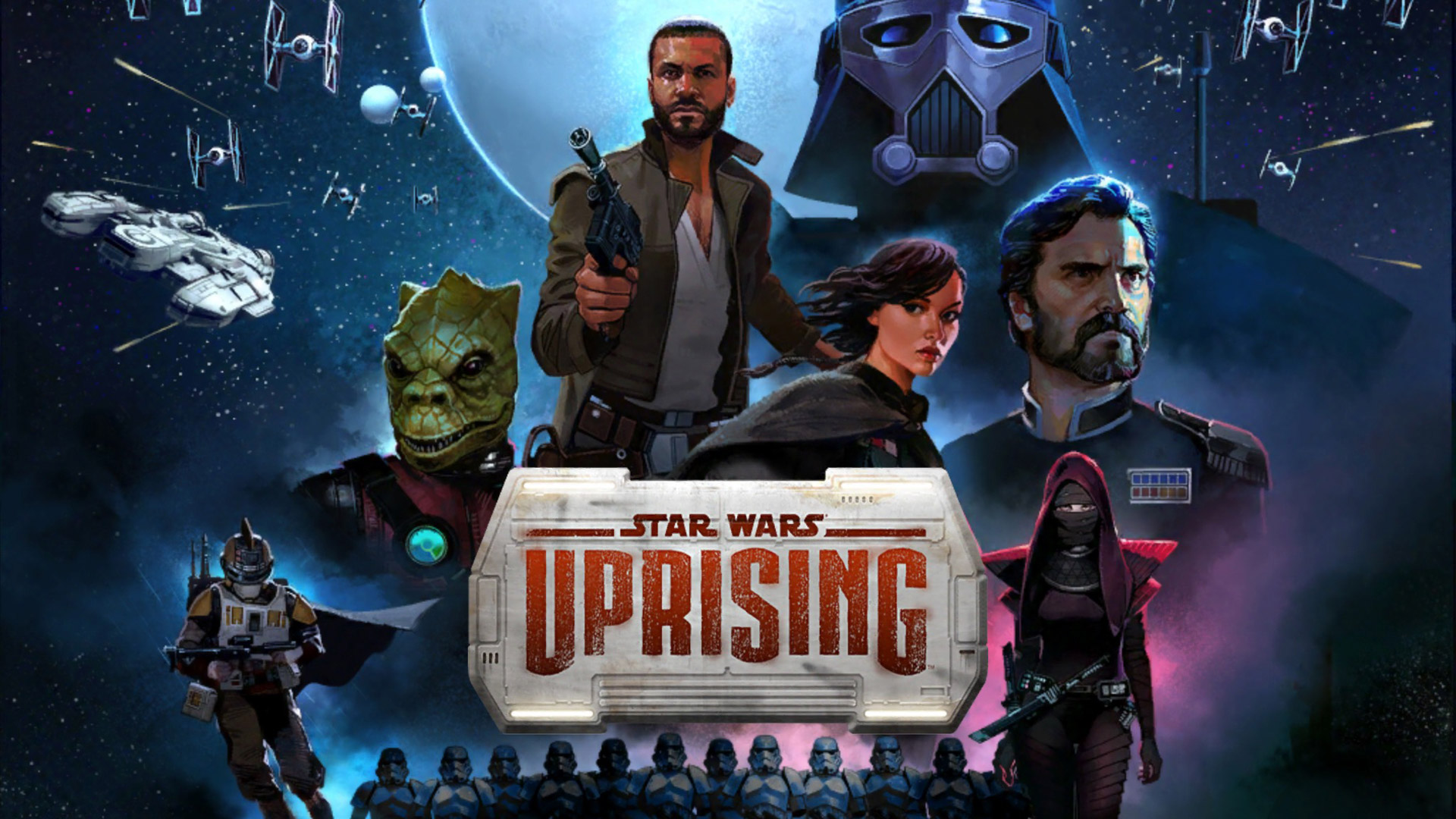 Free Star Wars: Uprising Wallpaper in 1920x1080