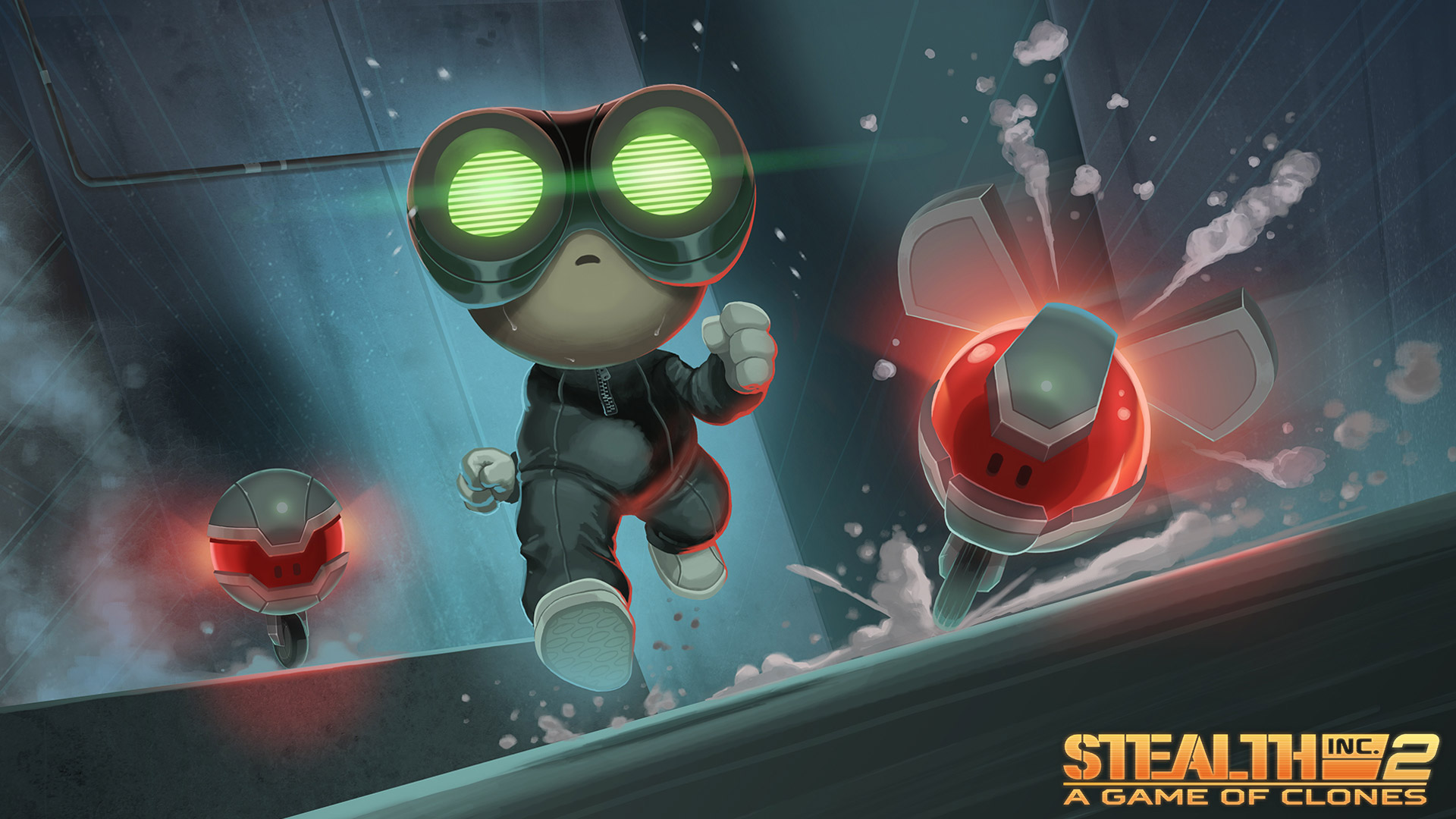 Stealth Inc 2: A Game of Clones Wallpaper in 1920x1080
