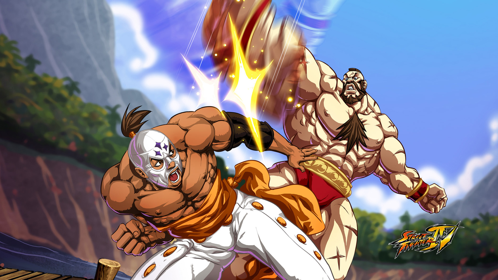 Street Fighter IV Wallpaper in 1920x1080