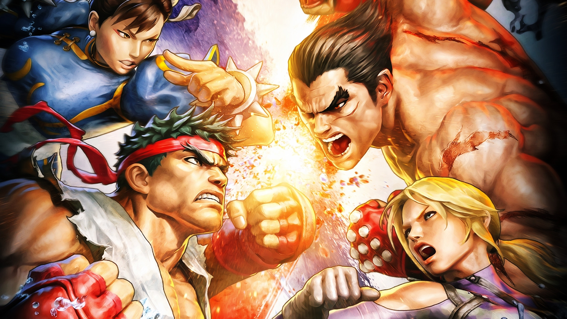 Free Street Fighter X Tekken Wallpaper in 1920x1080
