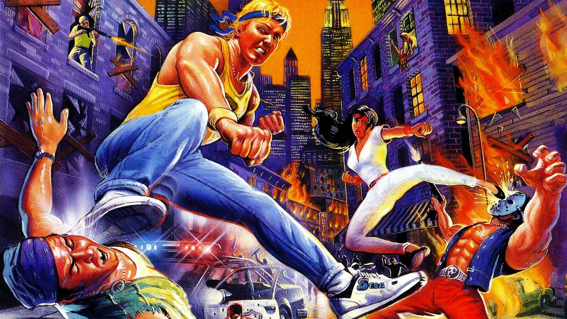 Streets of Rage Wallpaper in 1920x1080