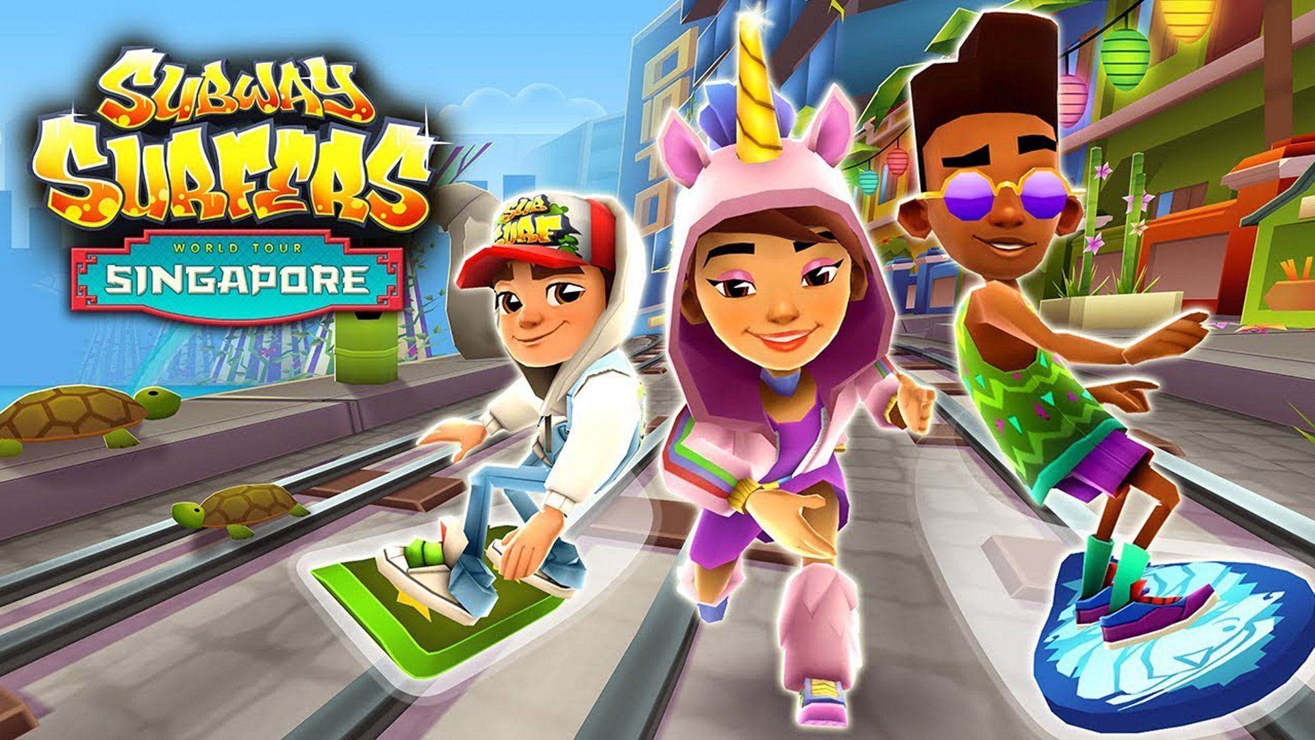 Free Subway Surfers Wallpaper in 1920x1080