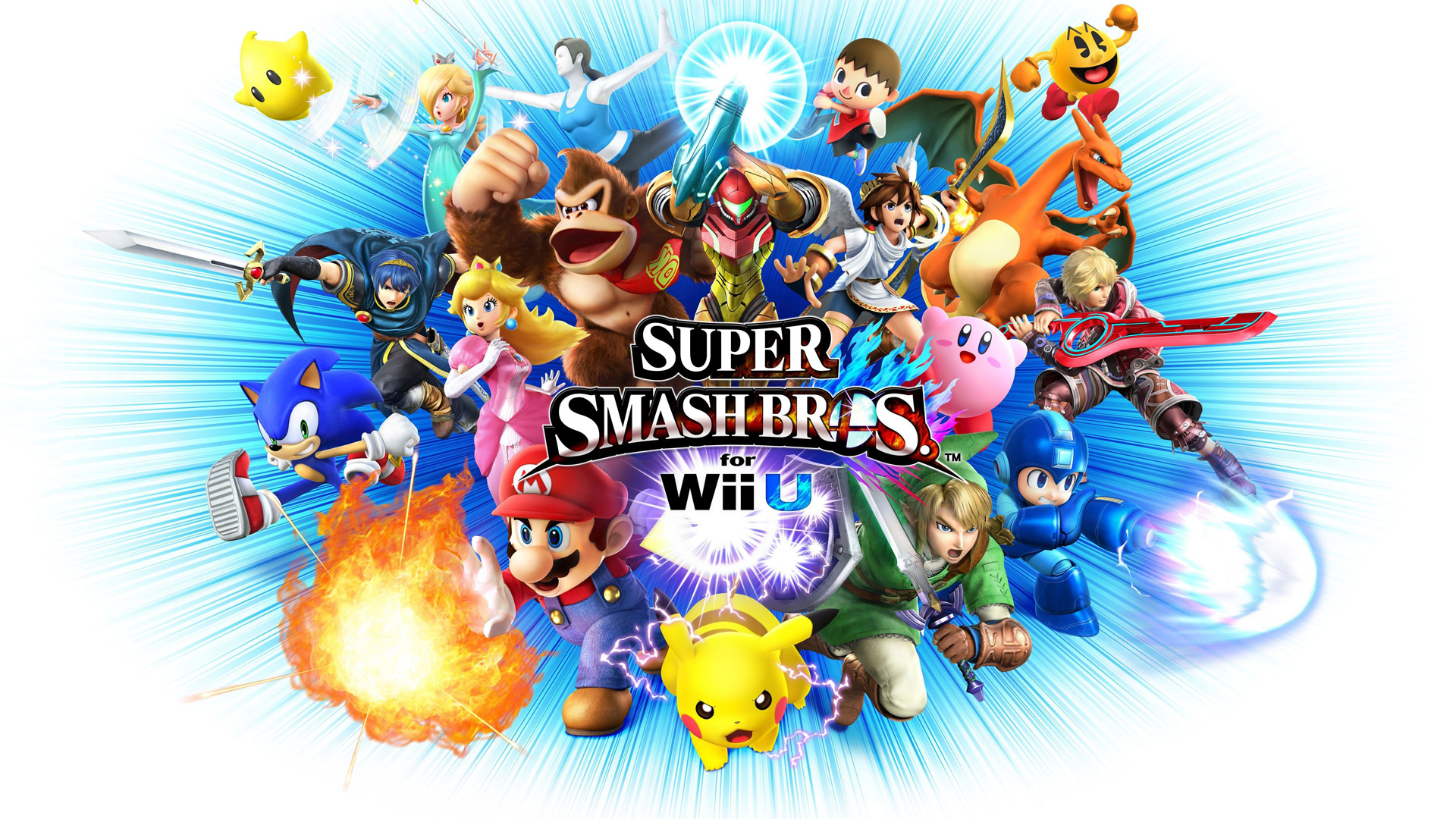 Free Super Smash Bros. for Nintendo 3DS / Wii U Wallpaper in 1920x1080