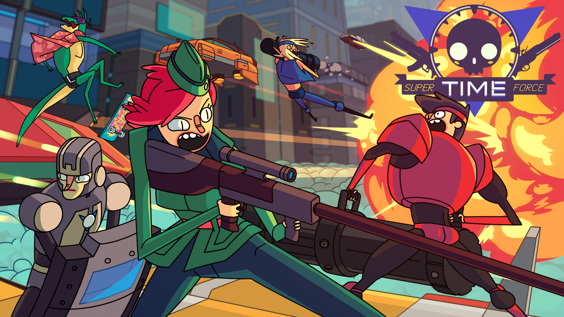 Super Time Force Wallpaper in 1920x1080