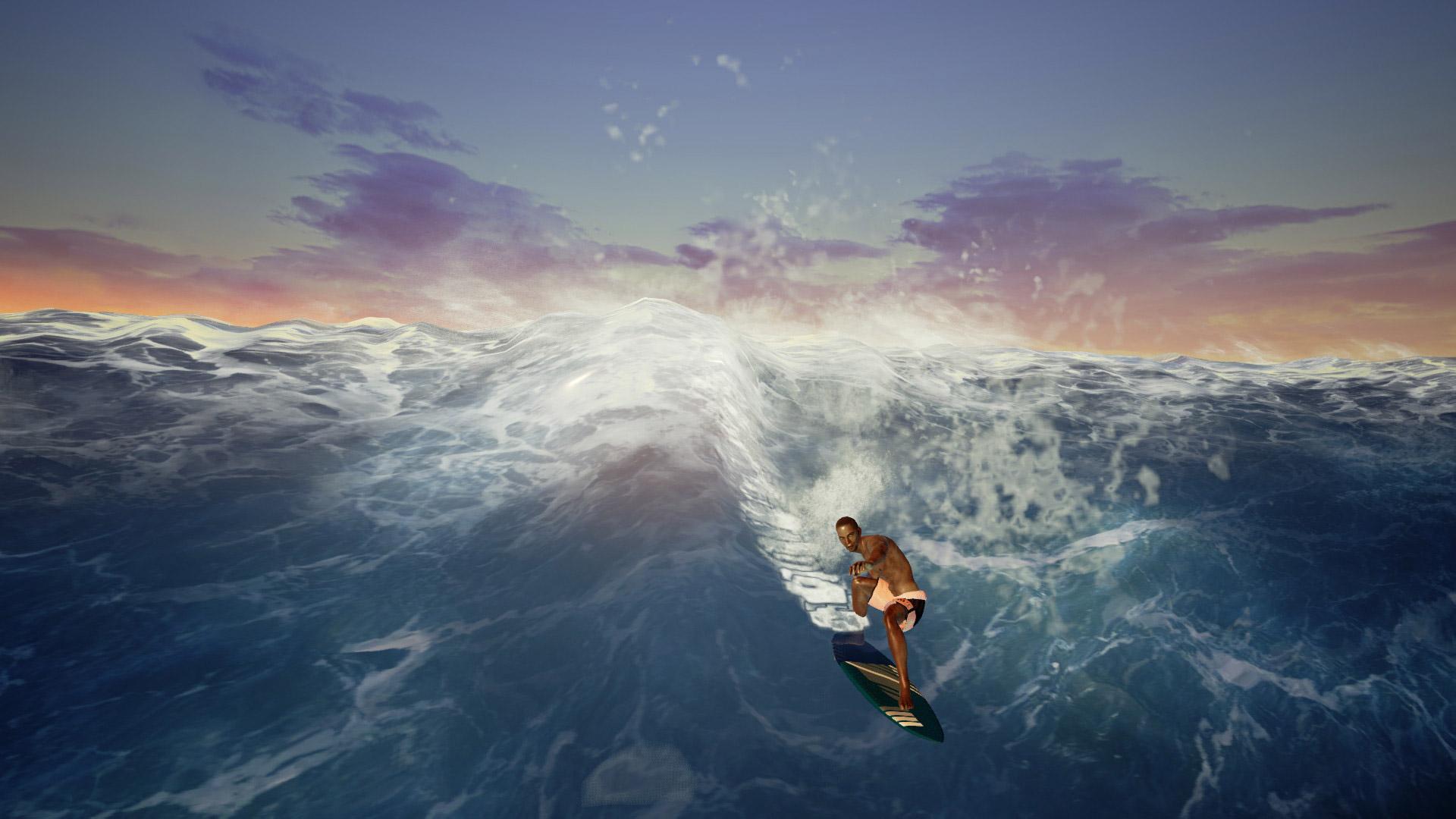 Free Surf World Series Wallpaper in 1920x1080