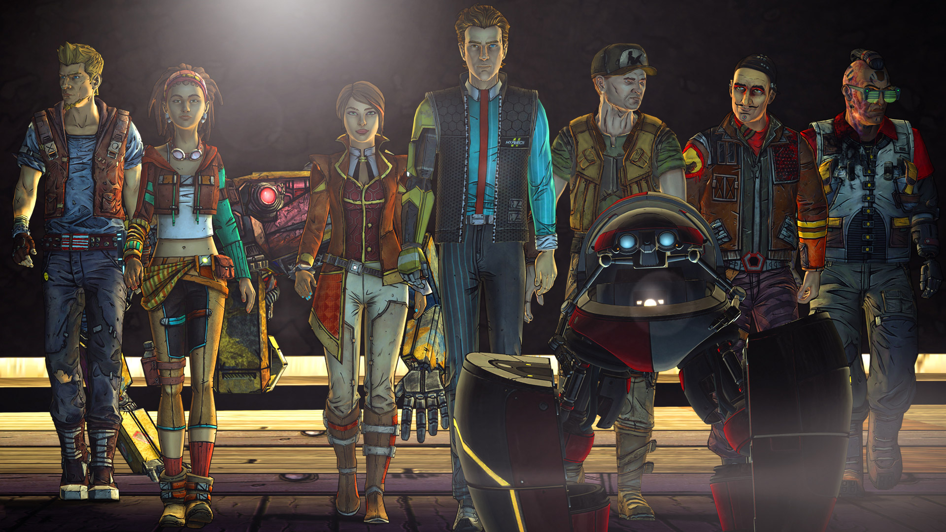 Free Tales from the Borderlands Wallpaper in 1920x1080