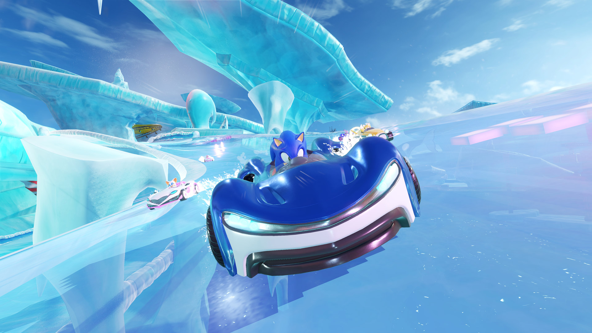 Free Team Sonic Racing Wallpaper in 1920x1080
