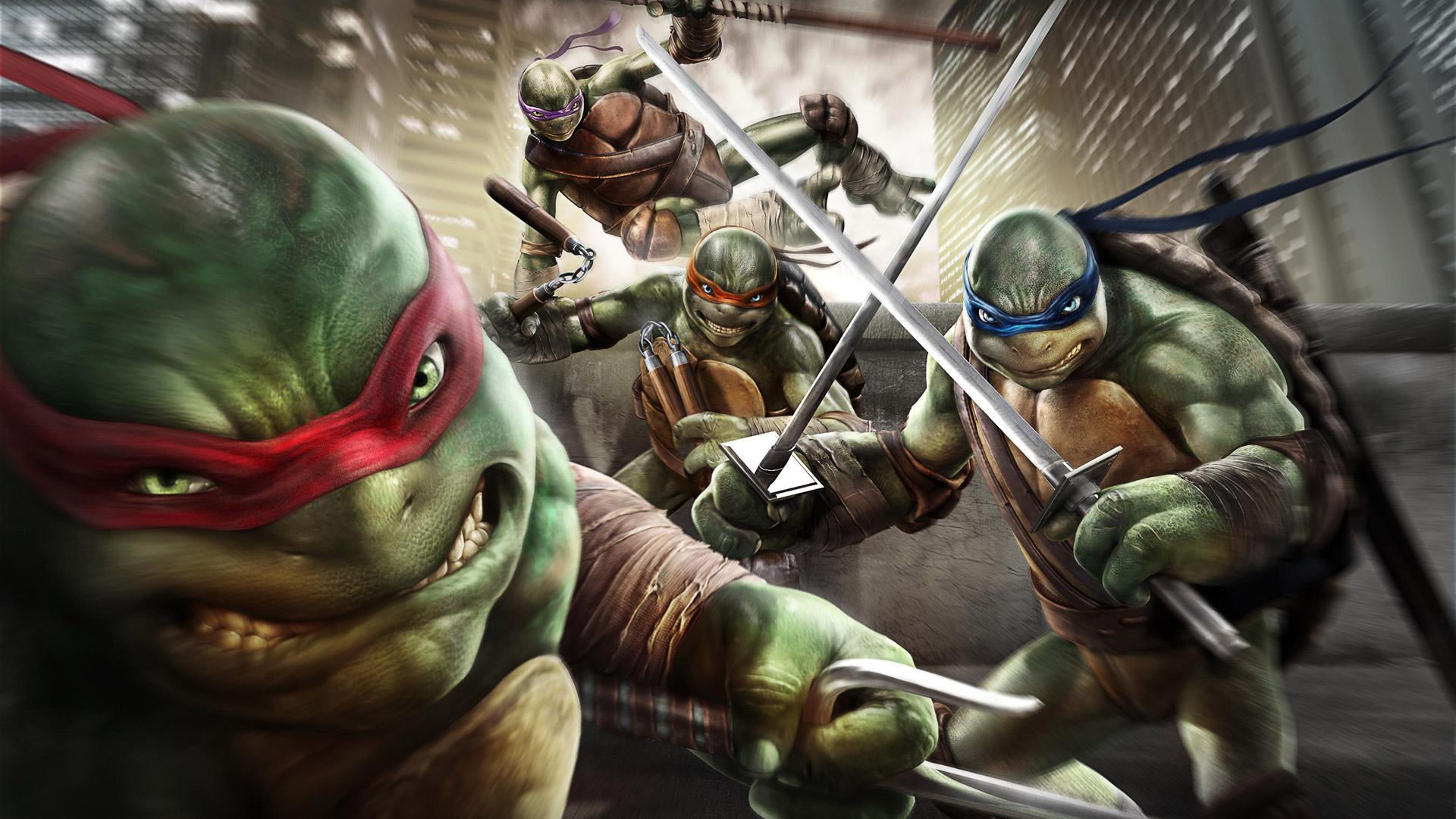 Teenage Mutant Ninja Turtles: Out of the Shadows Wallpaper in 1920x1080