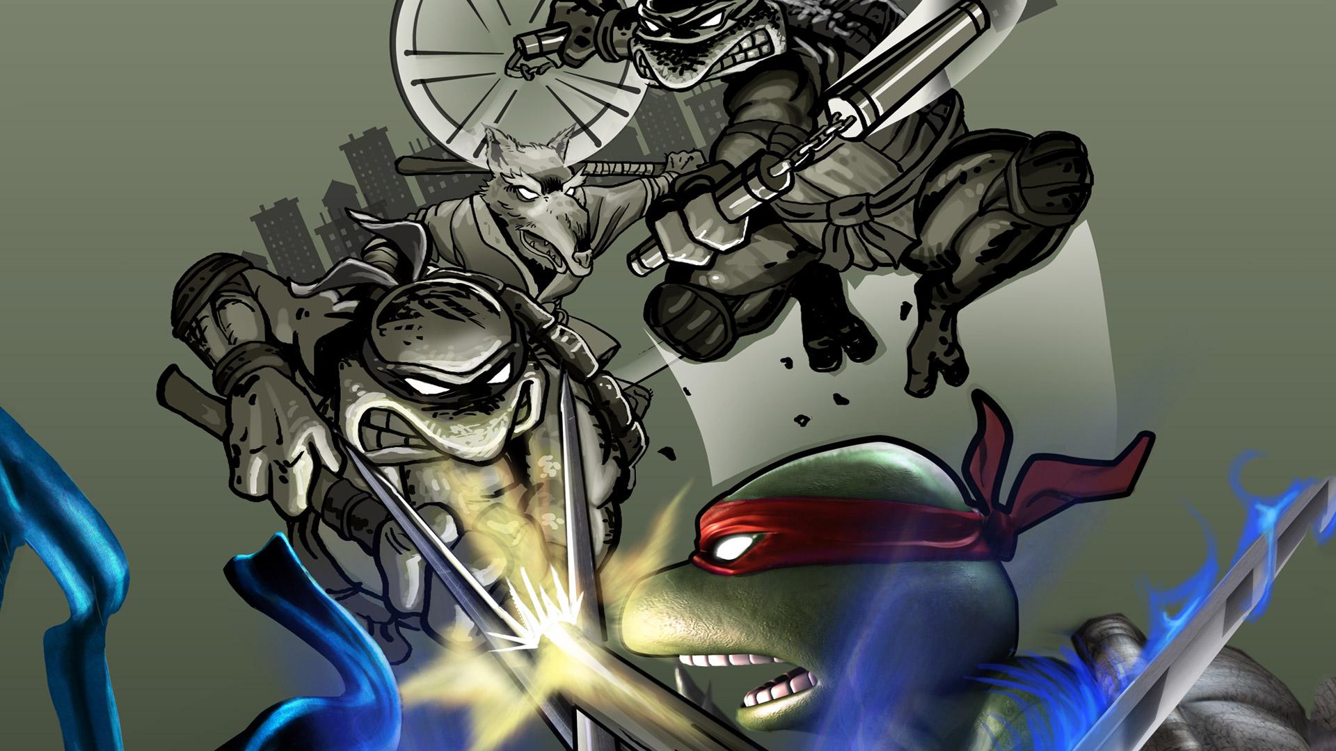 Free Teenage Mutant Ninja Turtles: Smash-Up Wallpaper in 1920x1080