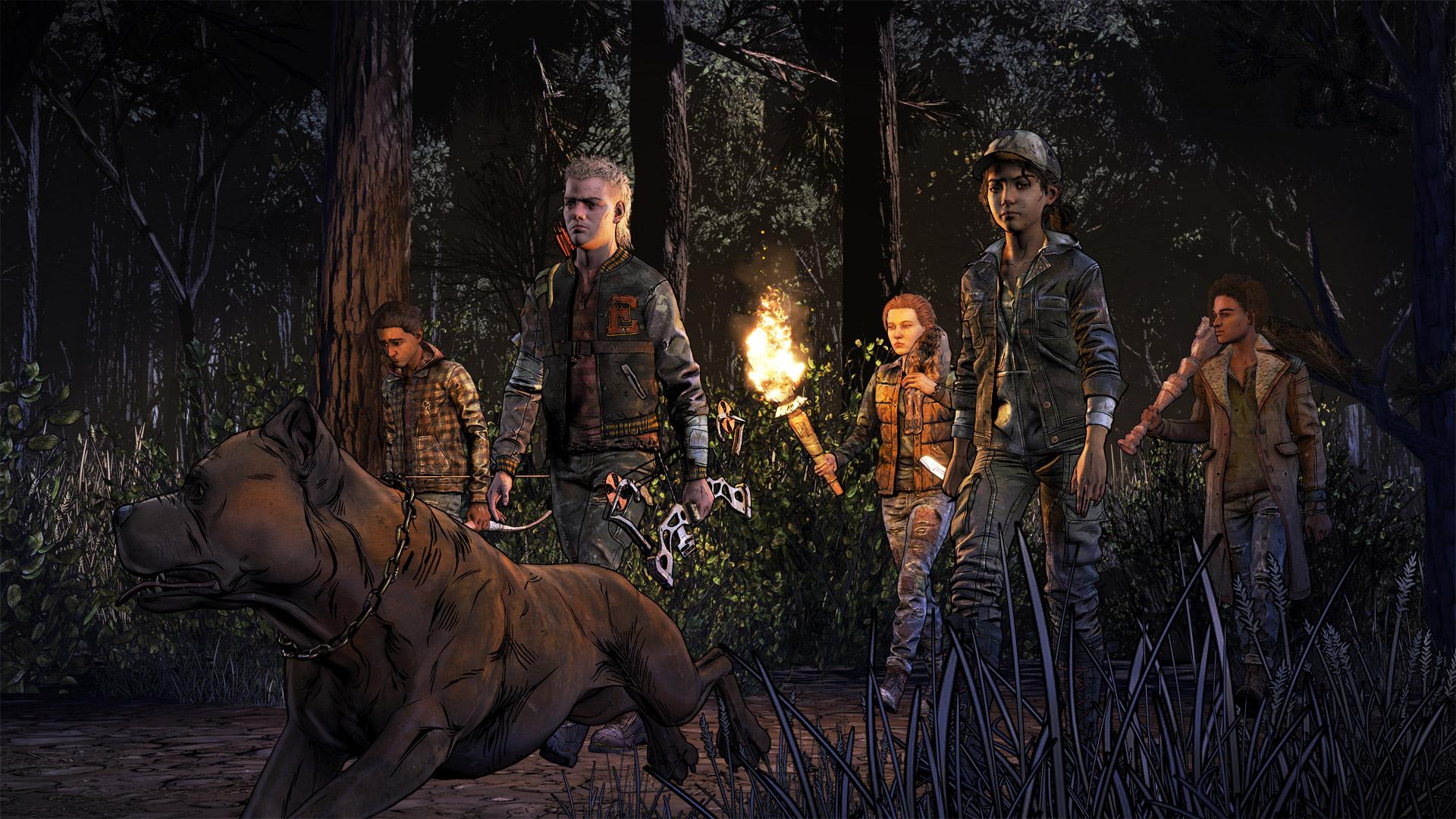 The Walking Dead: The Final Season Wallpaper in 1920x1080