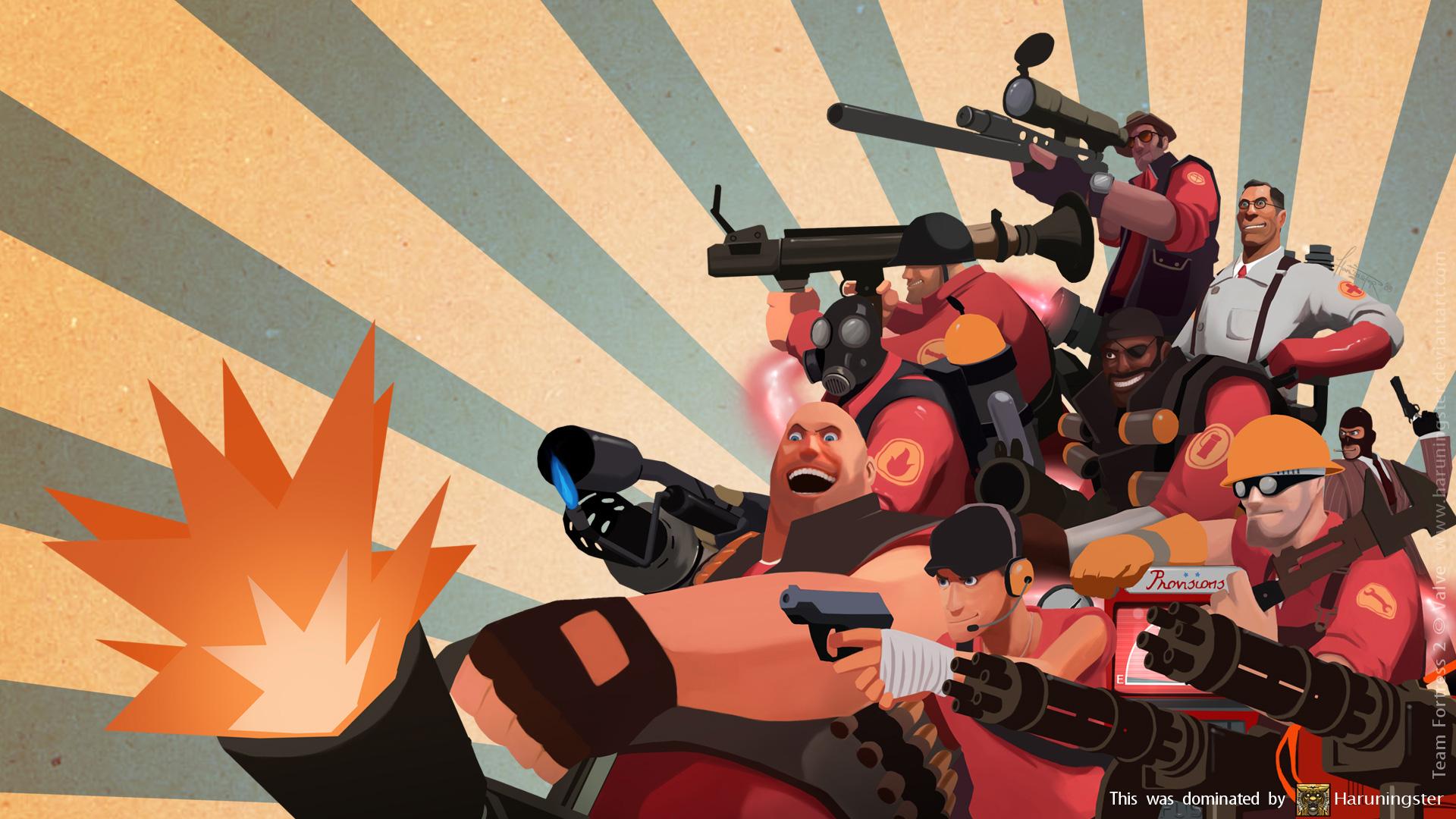 Free Team Fortress 2 Wallpaper in 1920x1080