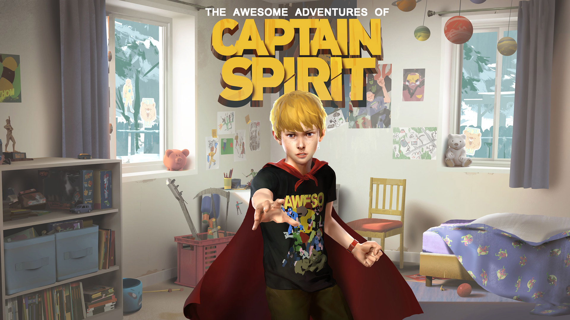 Free The Awesome Adventures of Captain Spirit Wallpaper in 1920x1080