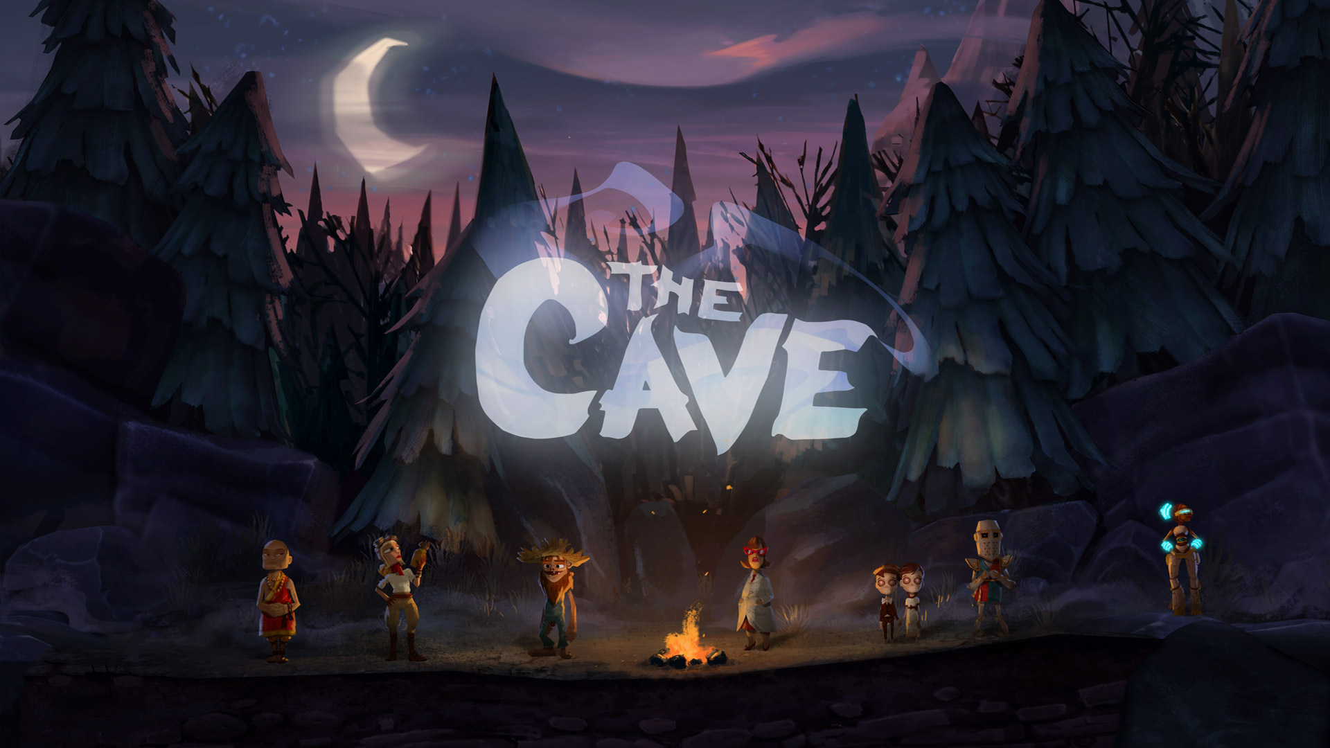 Free The Cave Wallpaper in 1920x1080