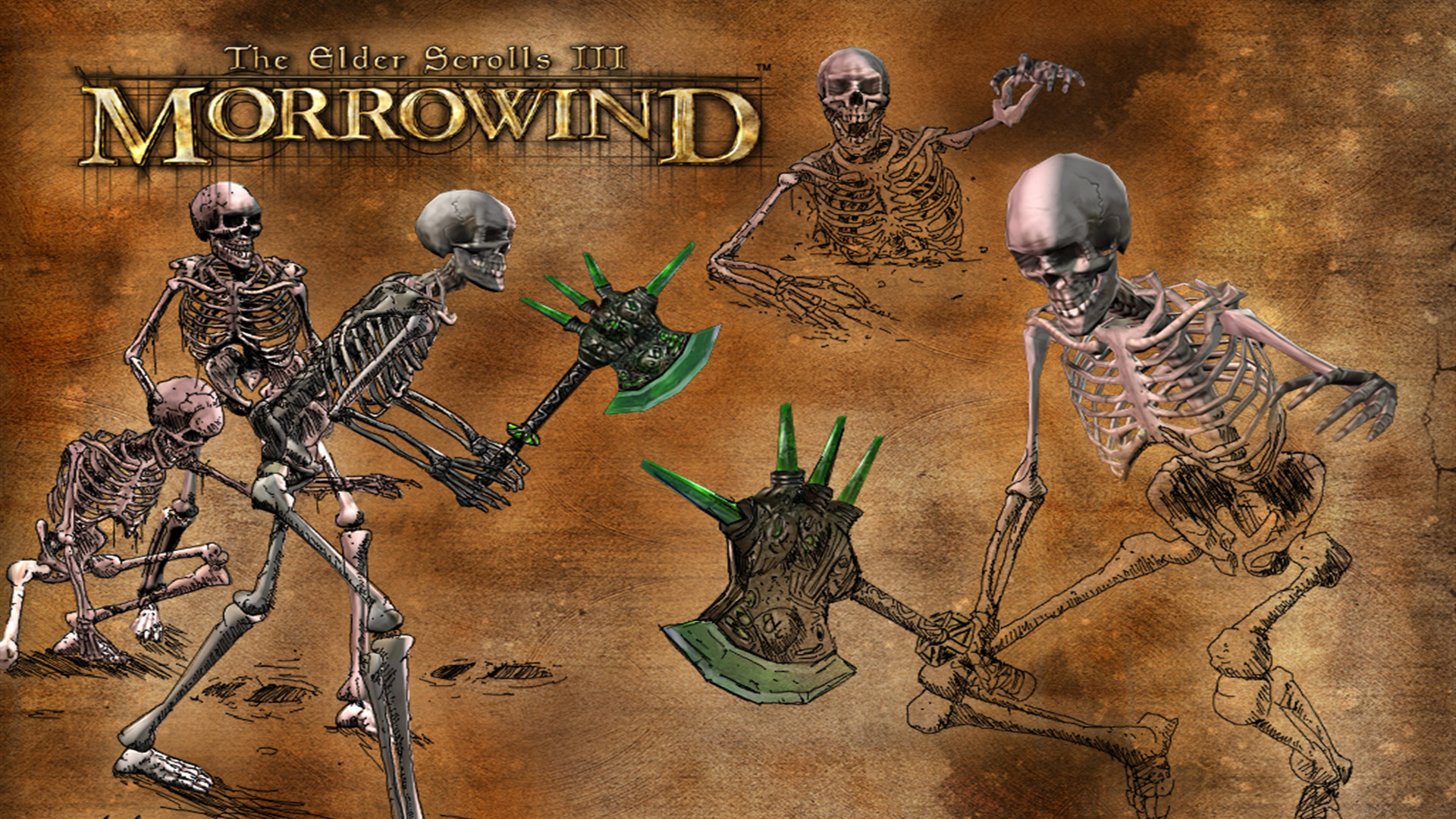 The Elder Scrolls III: Morrowind Wallpaper in 1920x1080