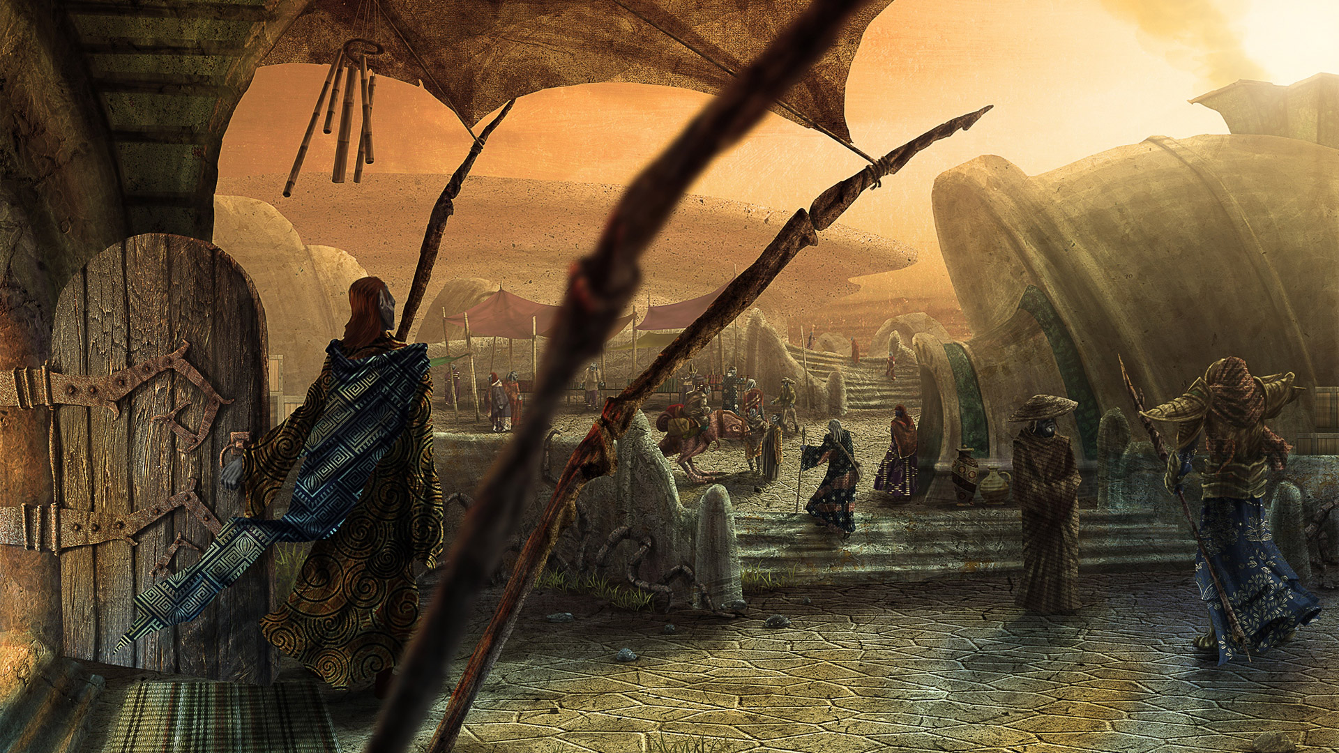 Free The Elder Scrolls III: Morrowind Wallpaper in 1920x1080