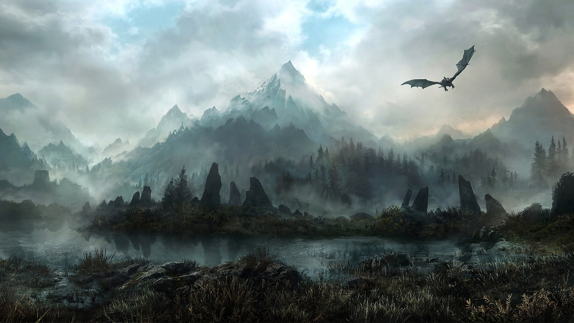 Free The Elder Scrolls V: Skyrim Wallpaper in 1920x1080