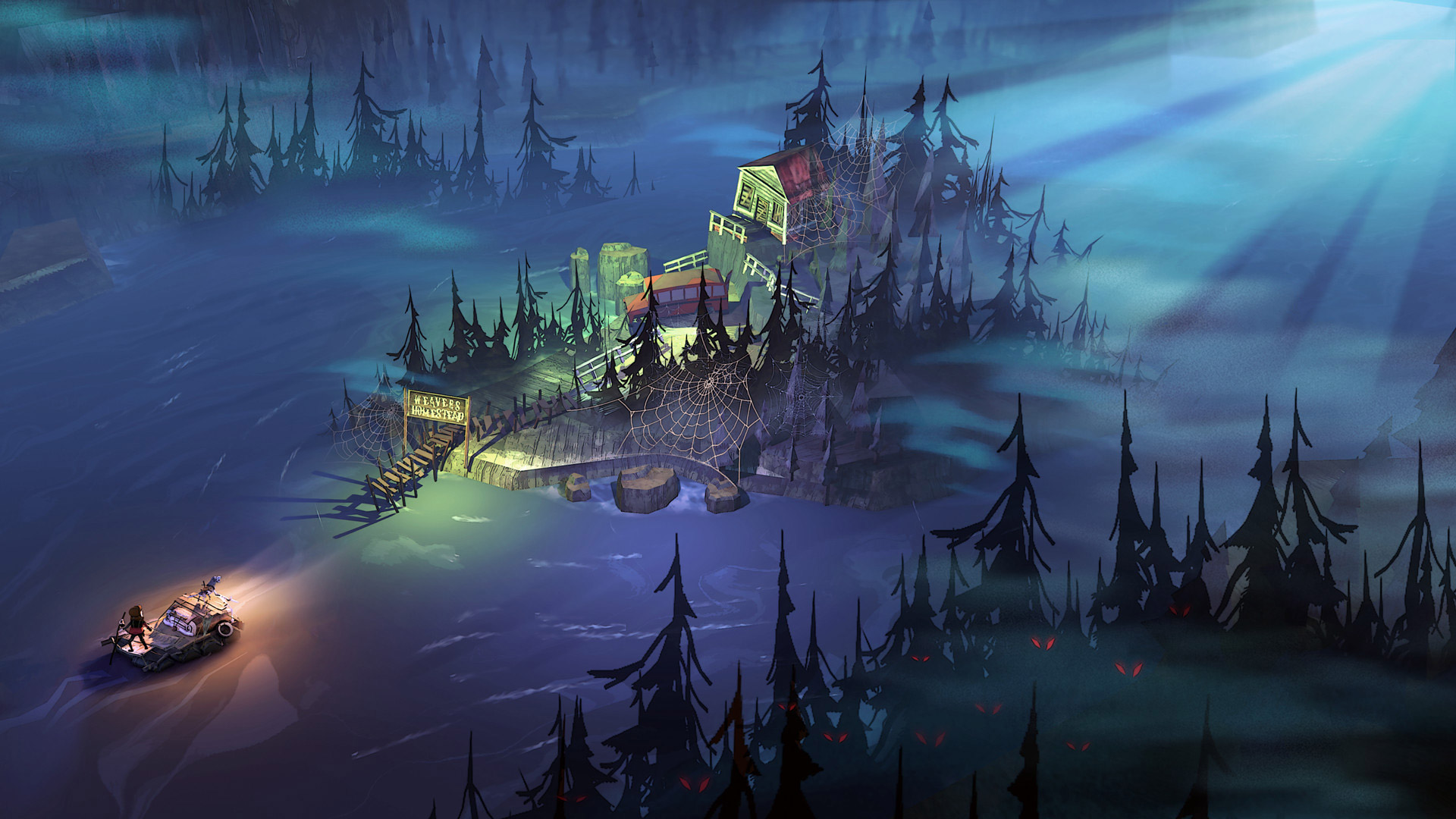 The Flame in the Flood Wallpaper in 1920x1080