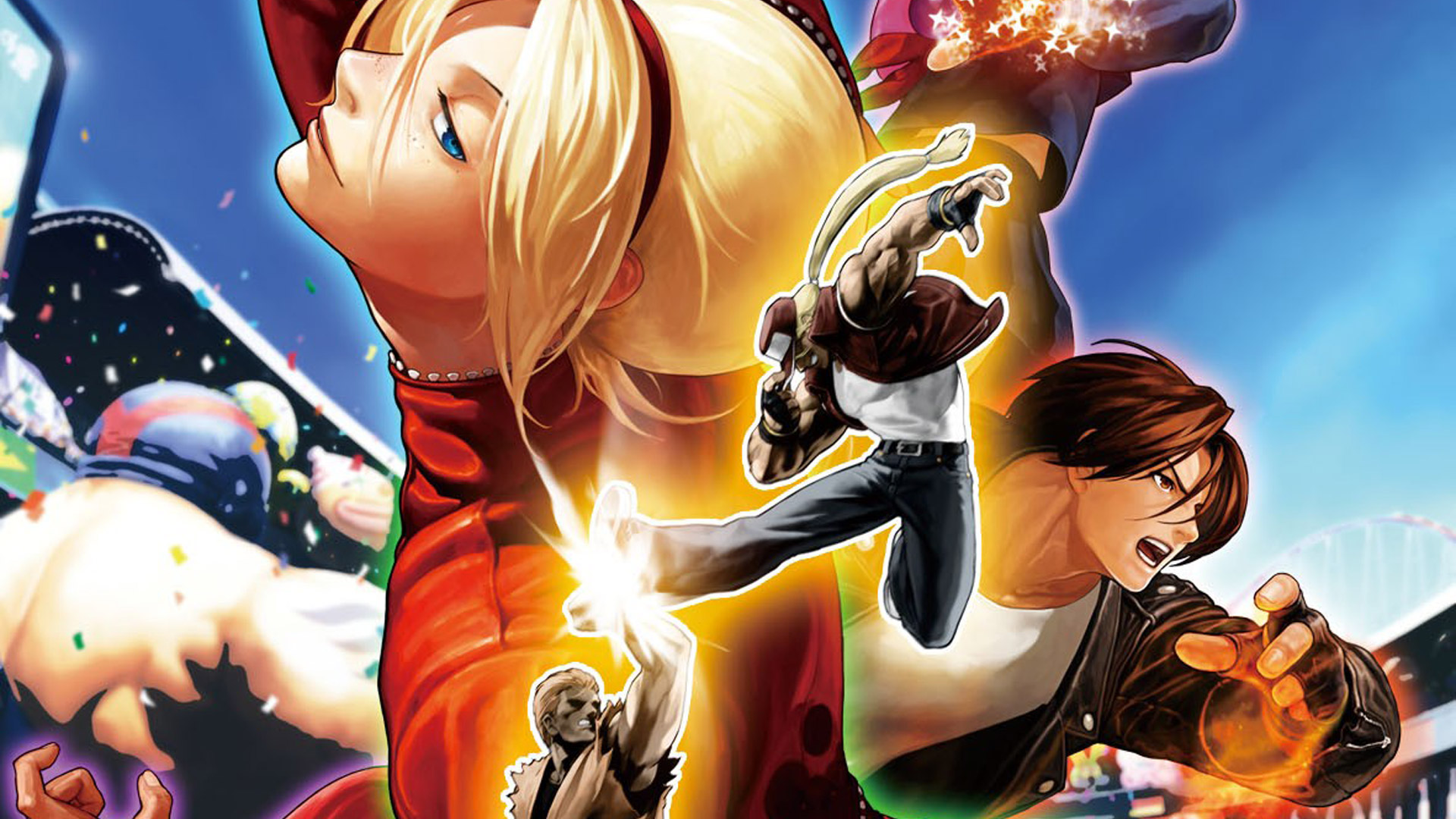 Free The King of Fighters XII Wallpaper in 1920x1080