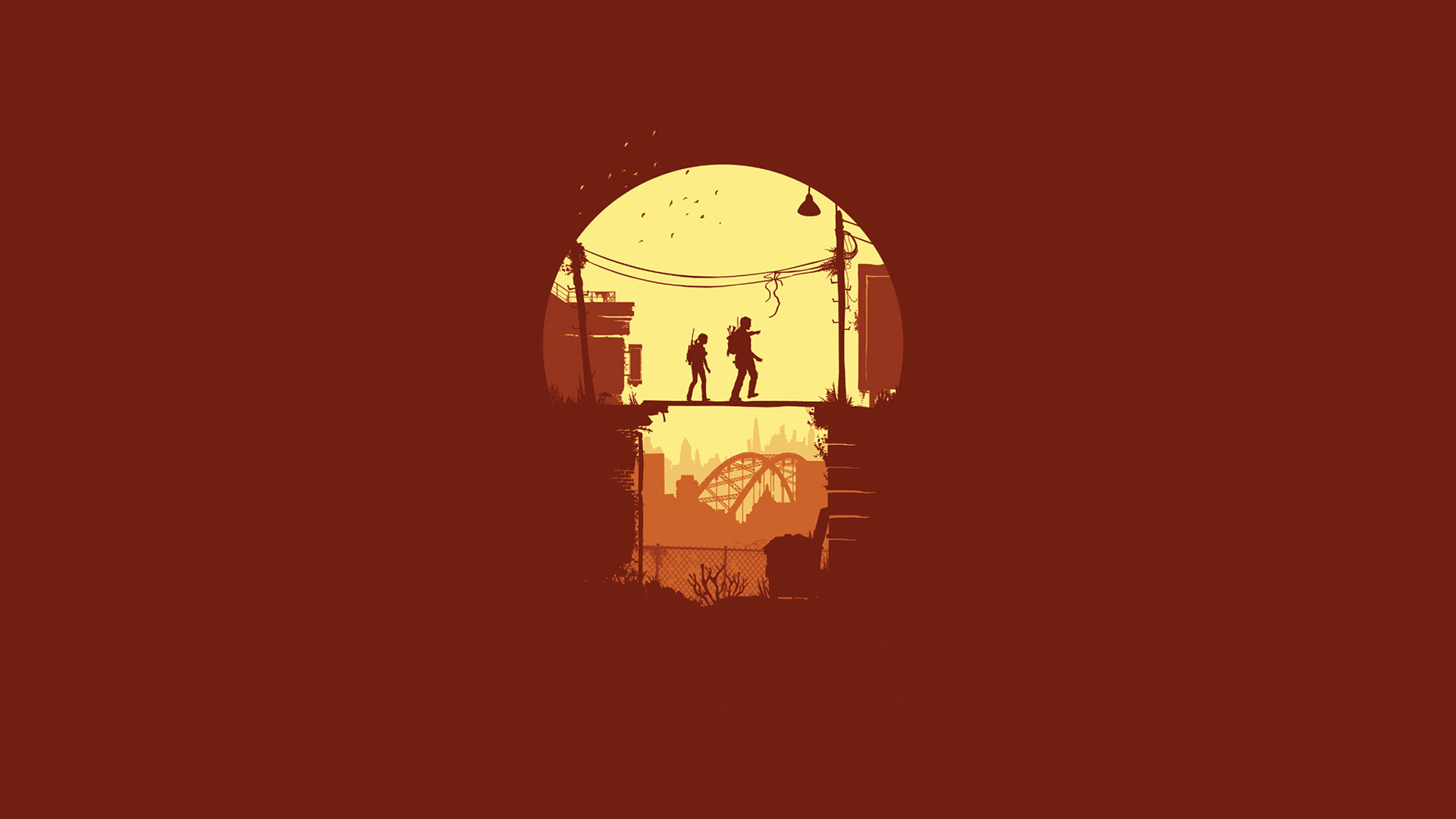 Free The Last of Us Wallpaper in 1920x1080