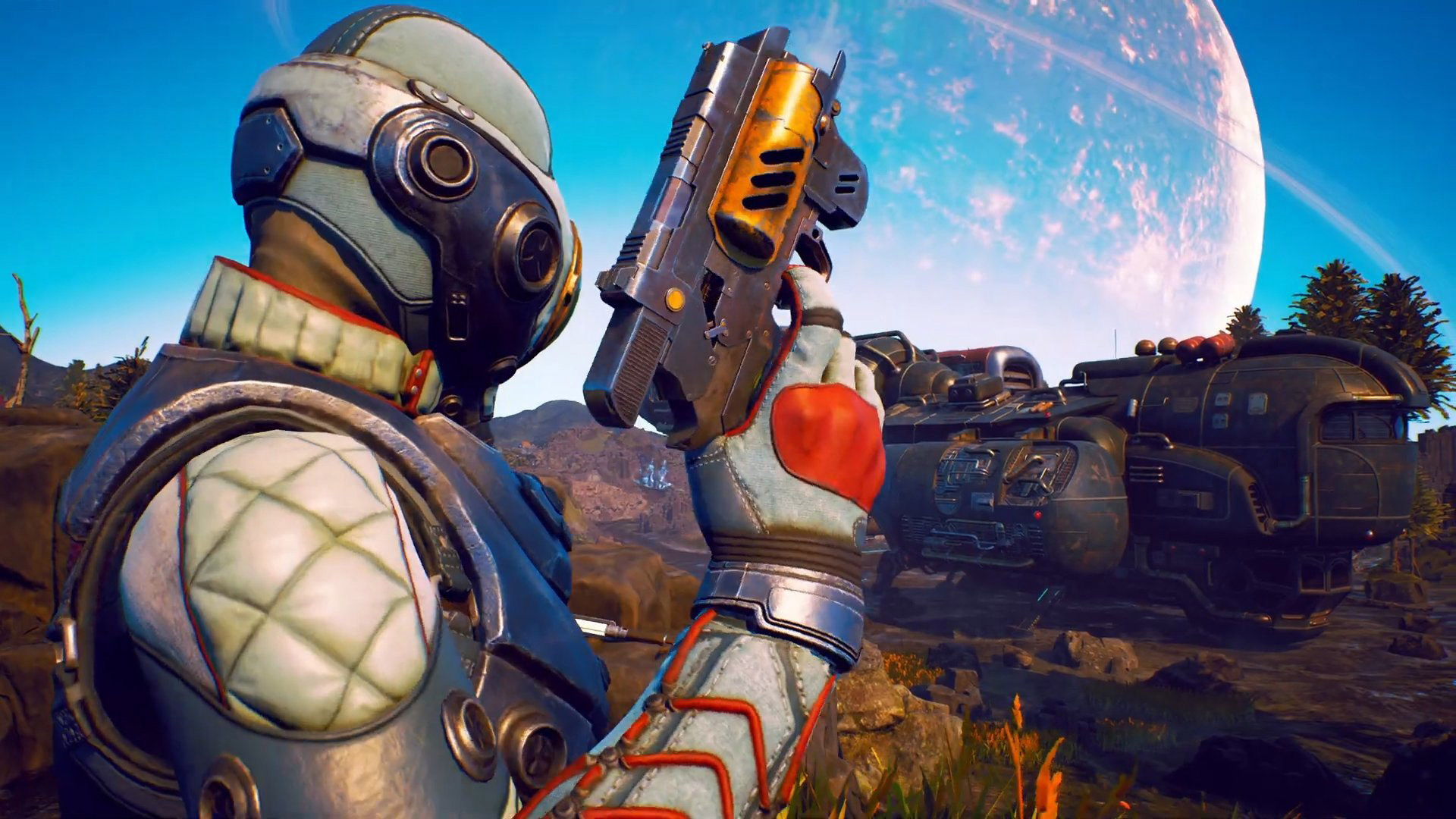 Free The Outer Worlds Wallpaper in 1920x1080
