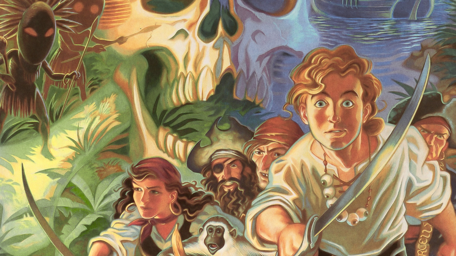 Free The Secret of Monkey Island Wallpaper in 1920x1080