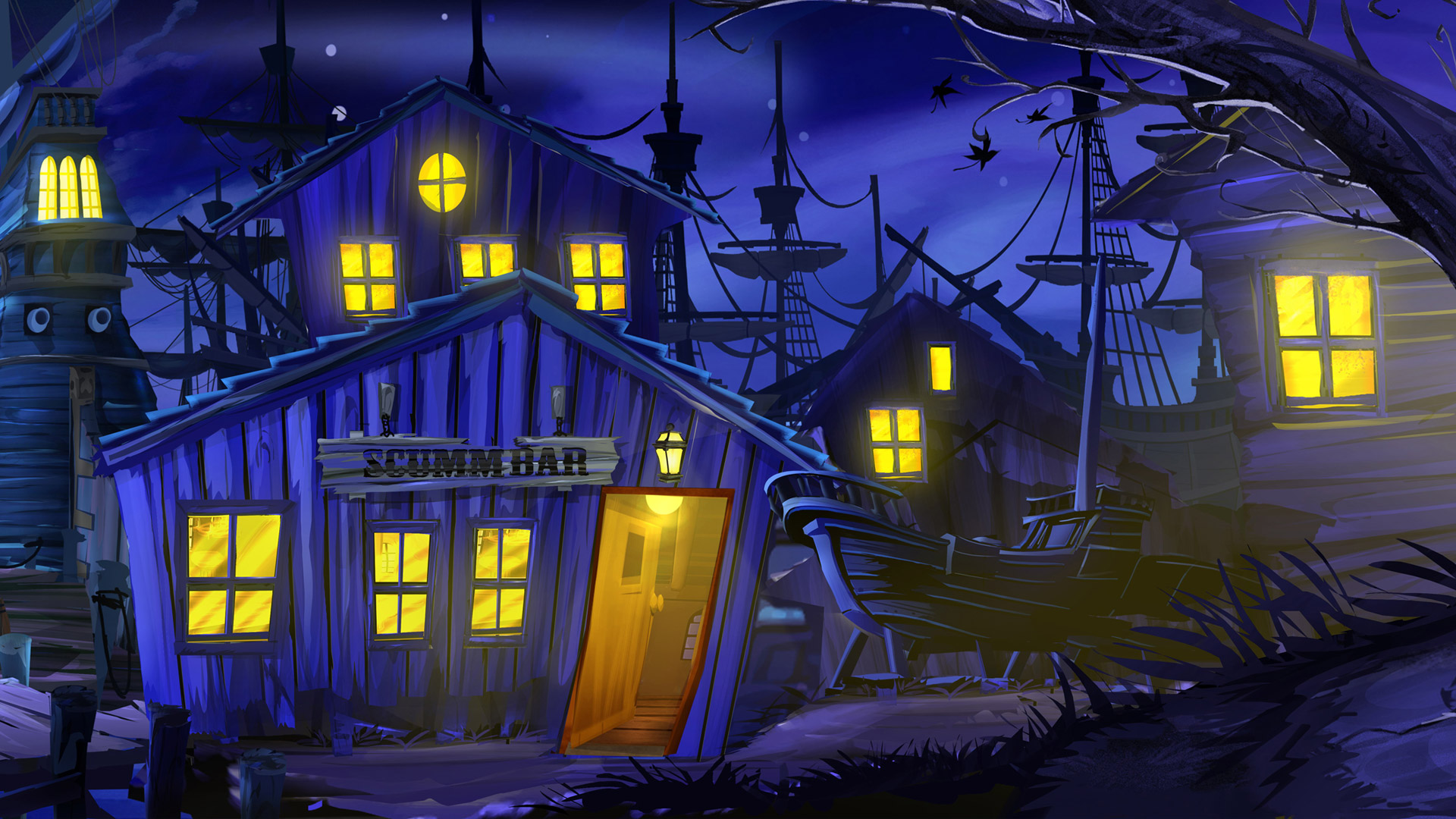 The Secret of Monkey Island Wallpaper in 1920x1080