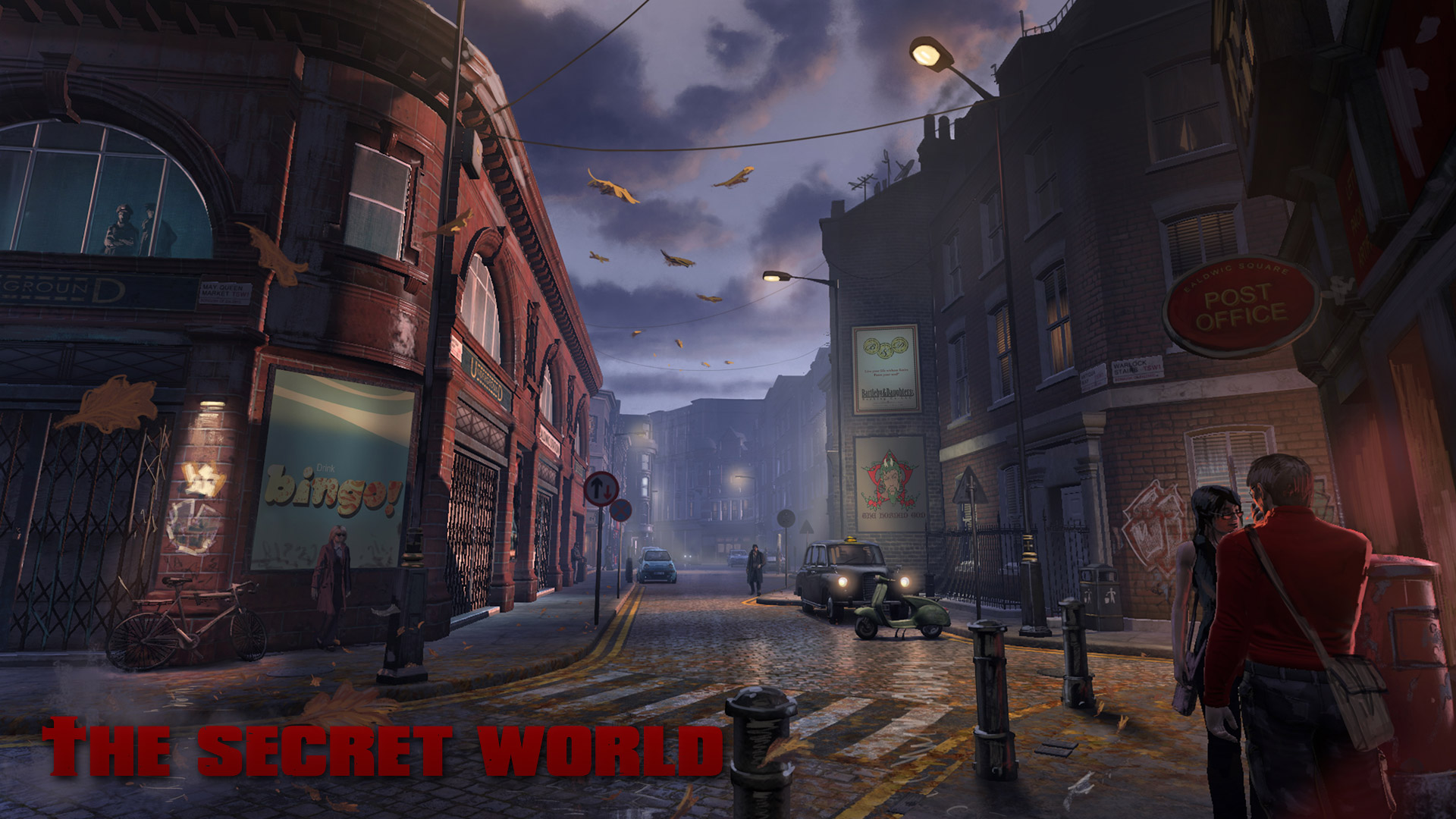 Free The Secret World Wallpaper in 1920x1080