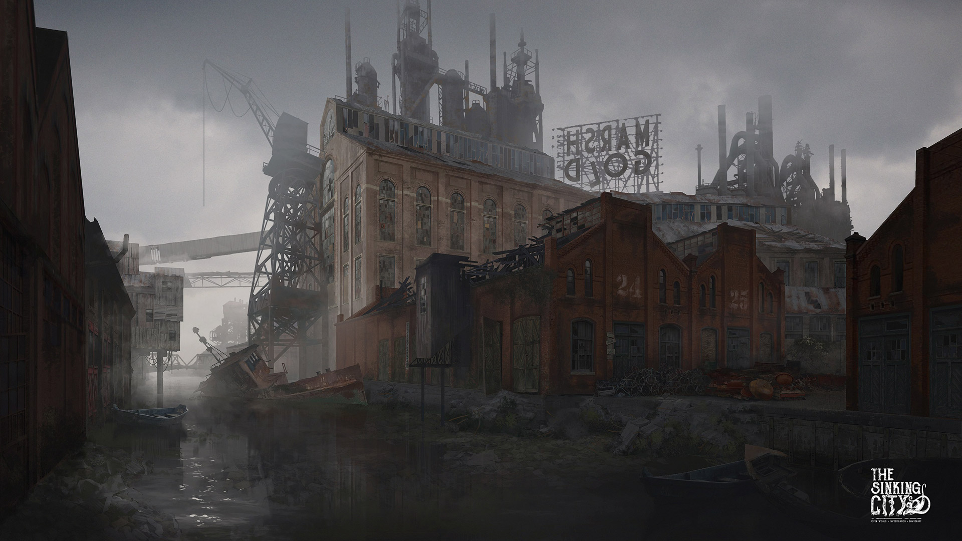 The Sinking City Wallpaper in 1920x1080