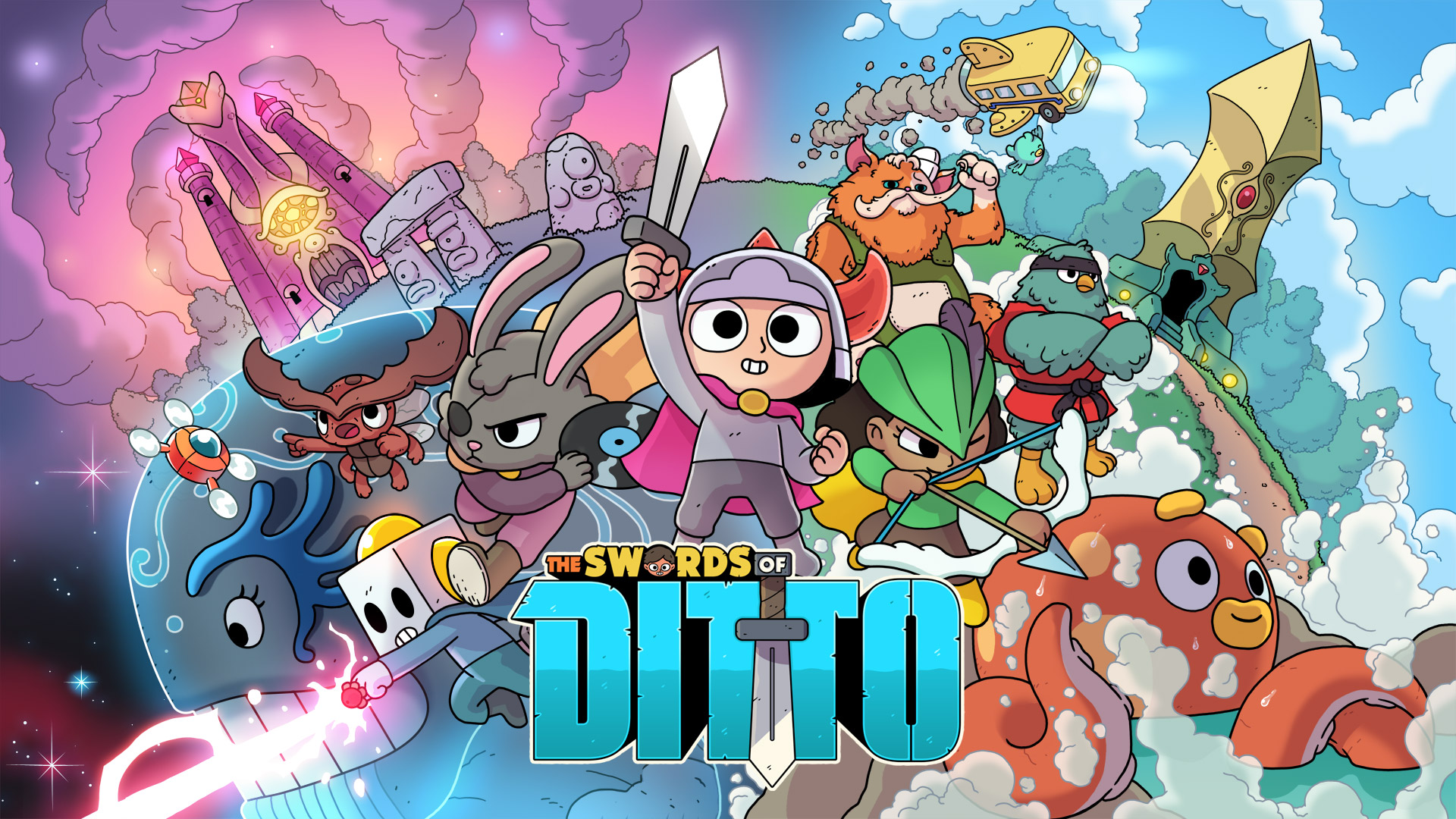Free The Swords of Ditto Wallpaper in 1920x1080