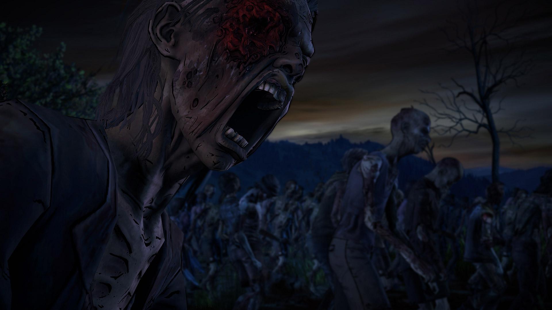 Free The Walking Dead: A New Frontier Wallpaper in 1920x1080