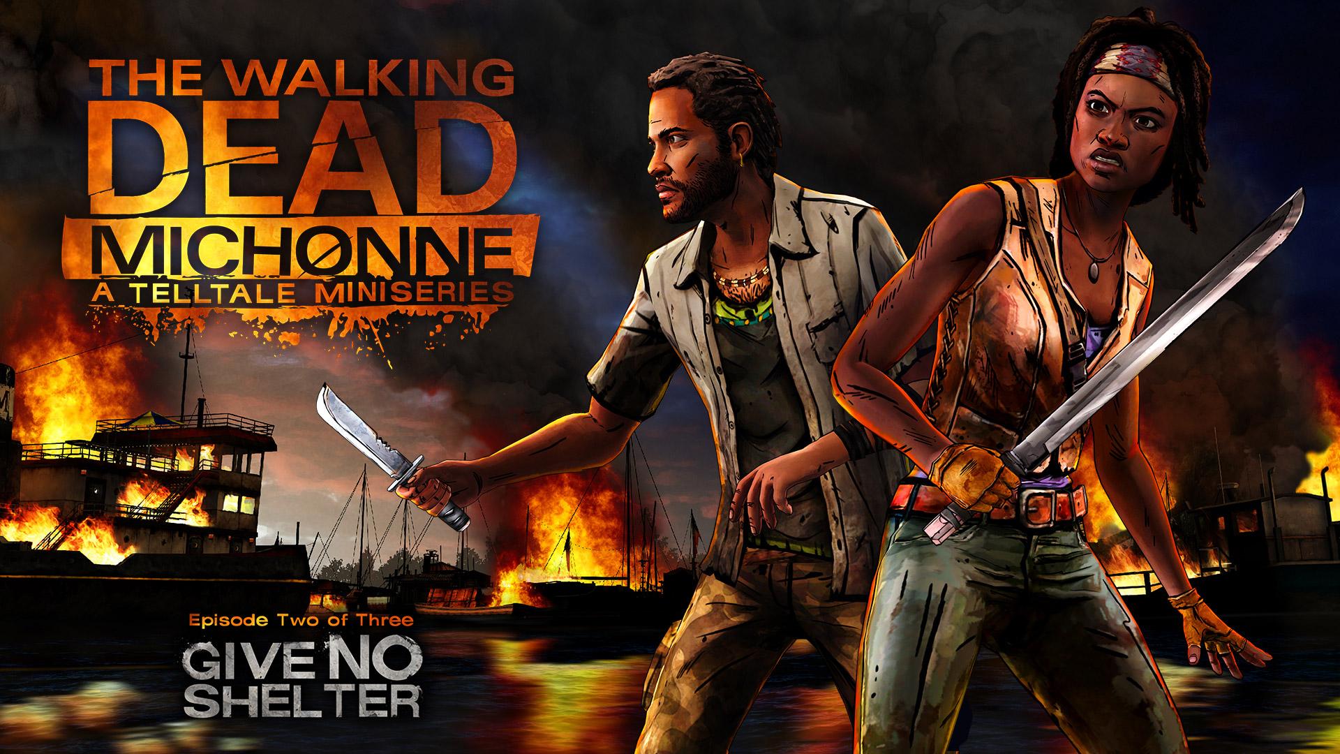 Free The Walking Dead: Michonne Wallpaper in 1920x1080