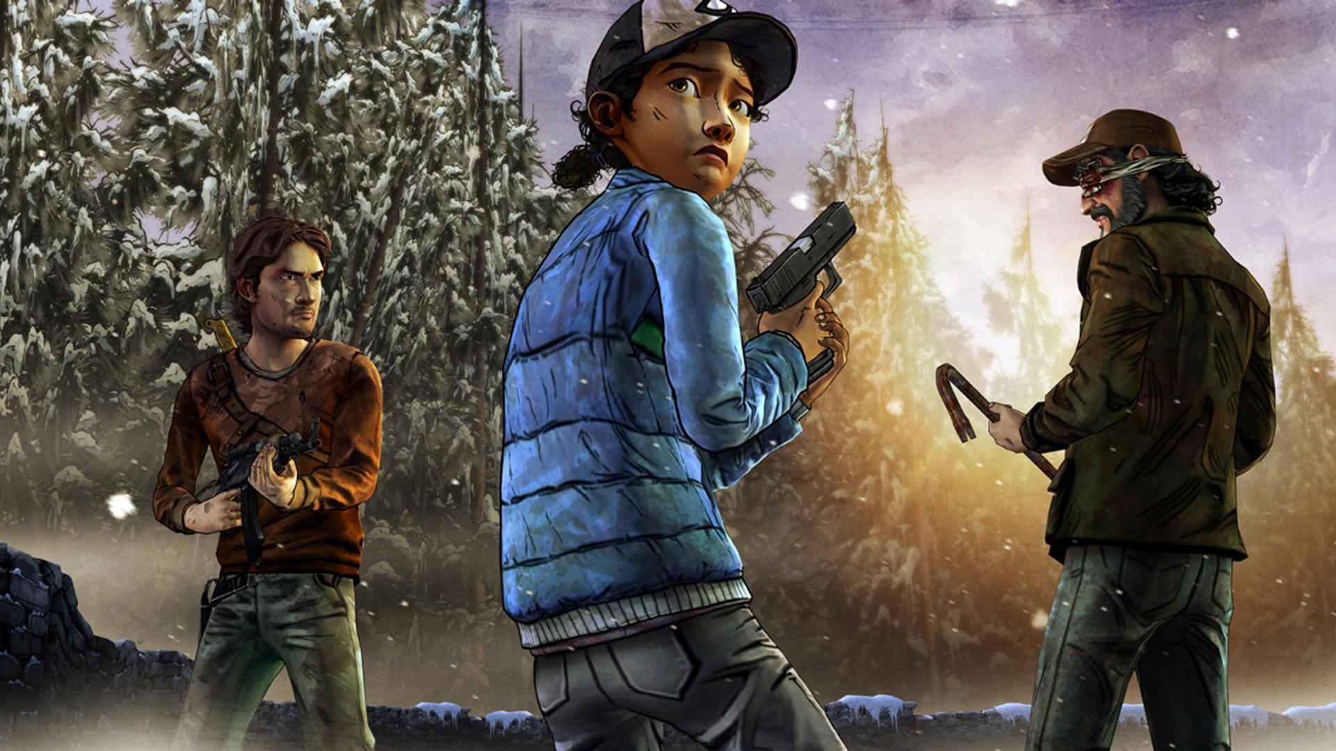 Free The Walking Dead: Season 2 Wallpaper in 1920x1080