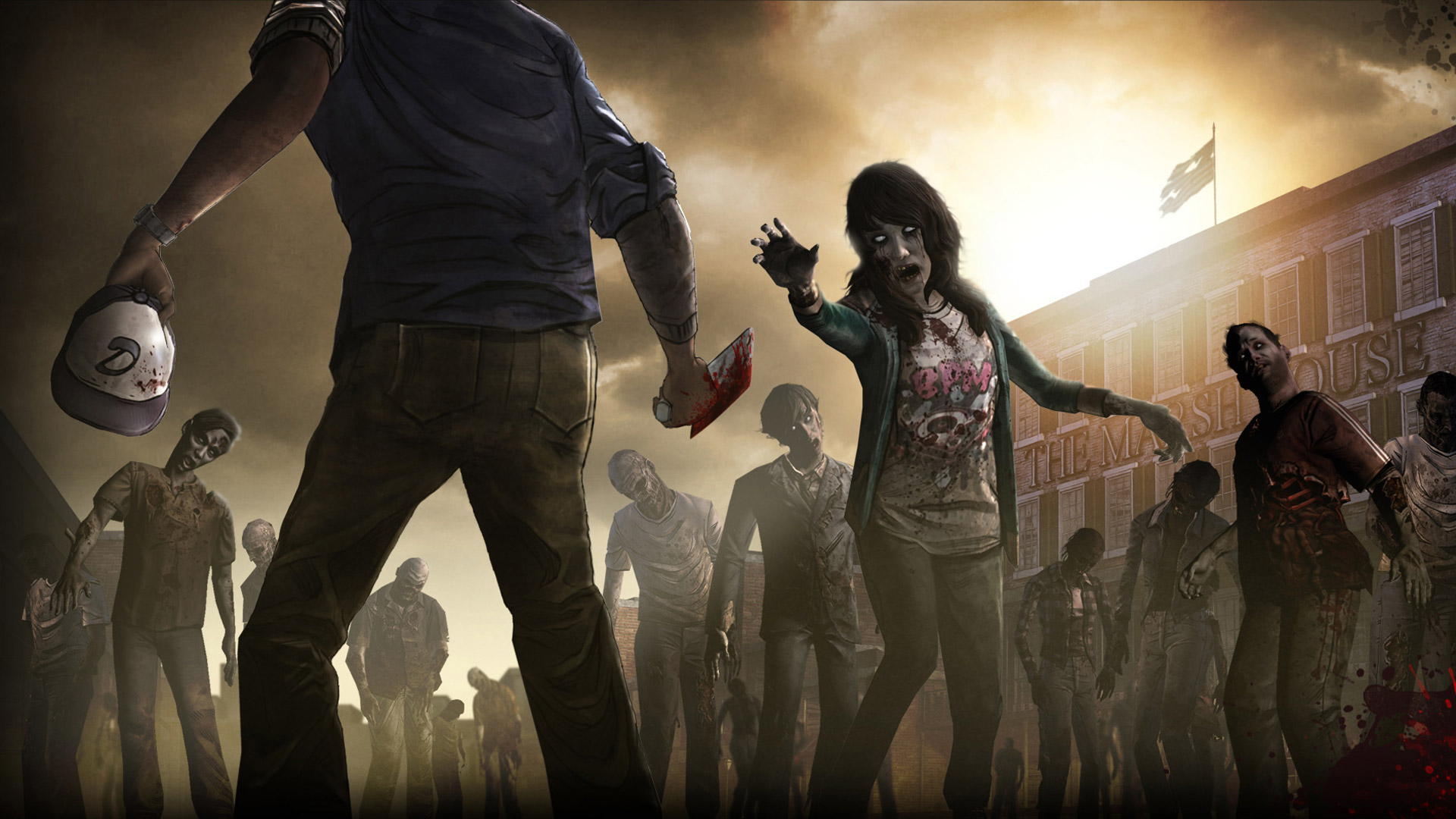 Free The Walking Dead Wallpaper in 1920x1080
