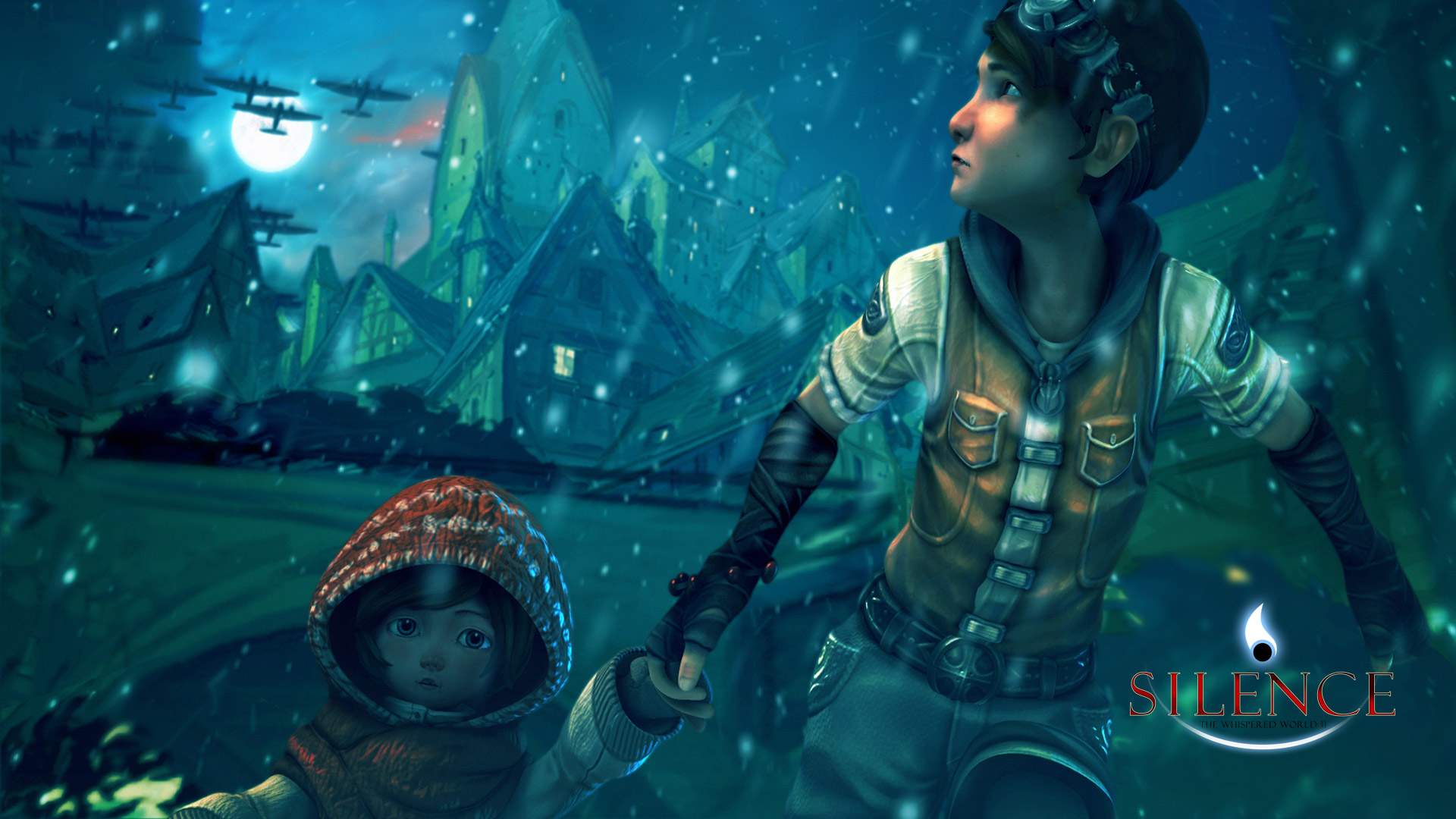 Silence: The Whispered World 2 Wallpaper in 1920x1080