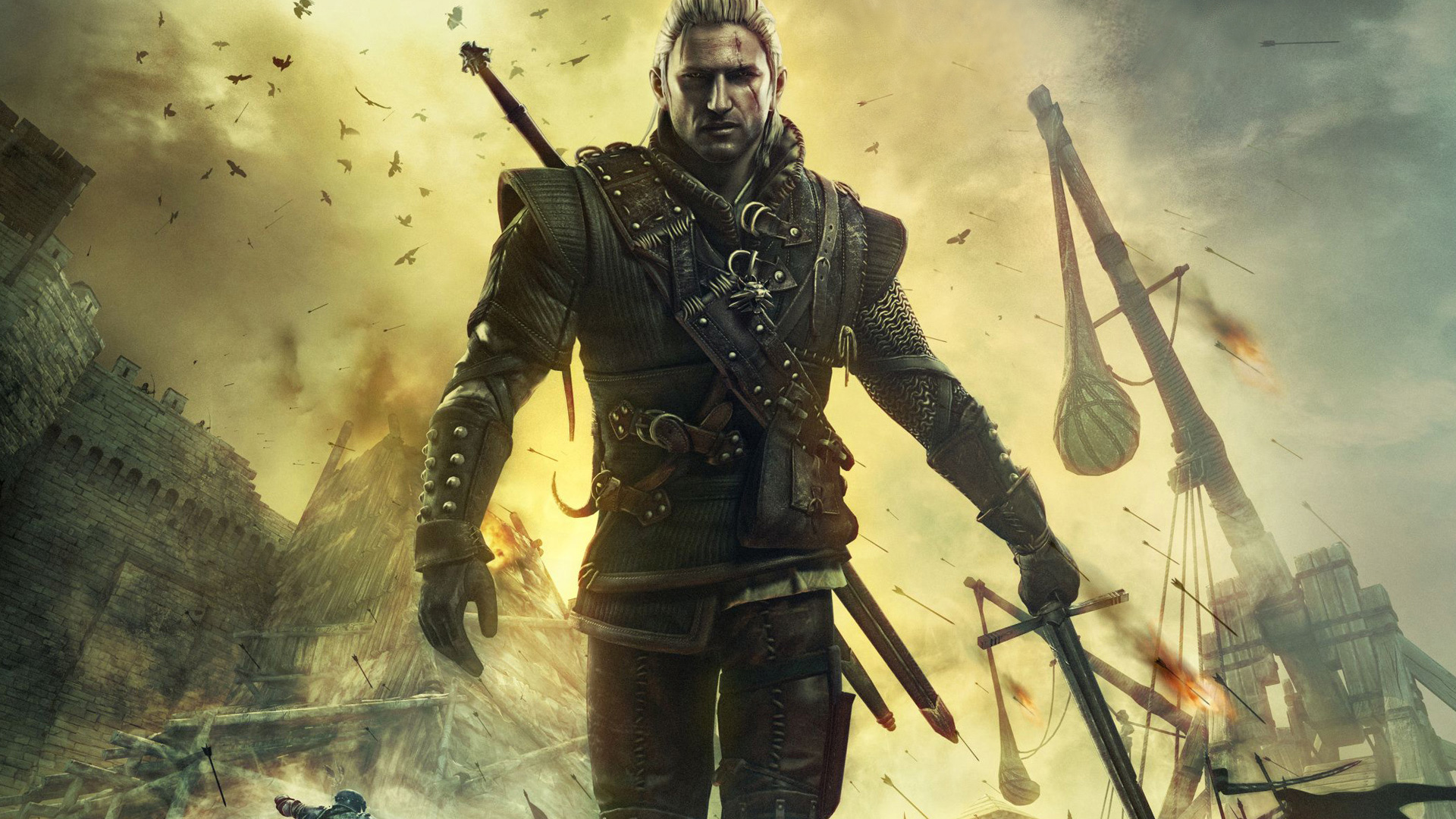 Free The Witcher Wallpaper in 1920x1080