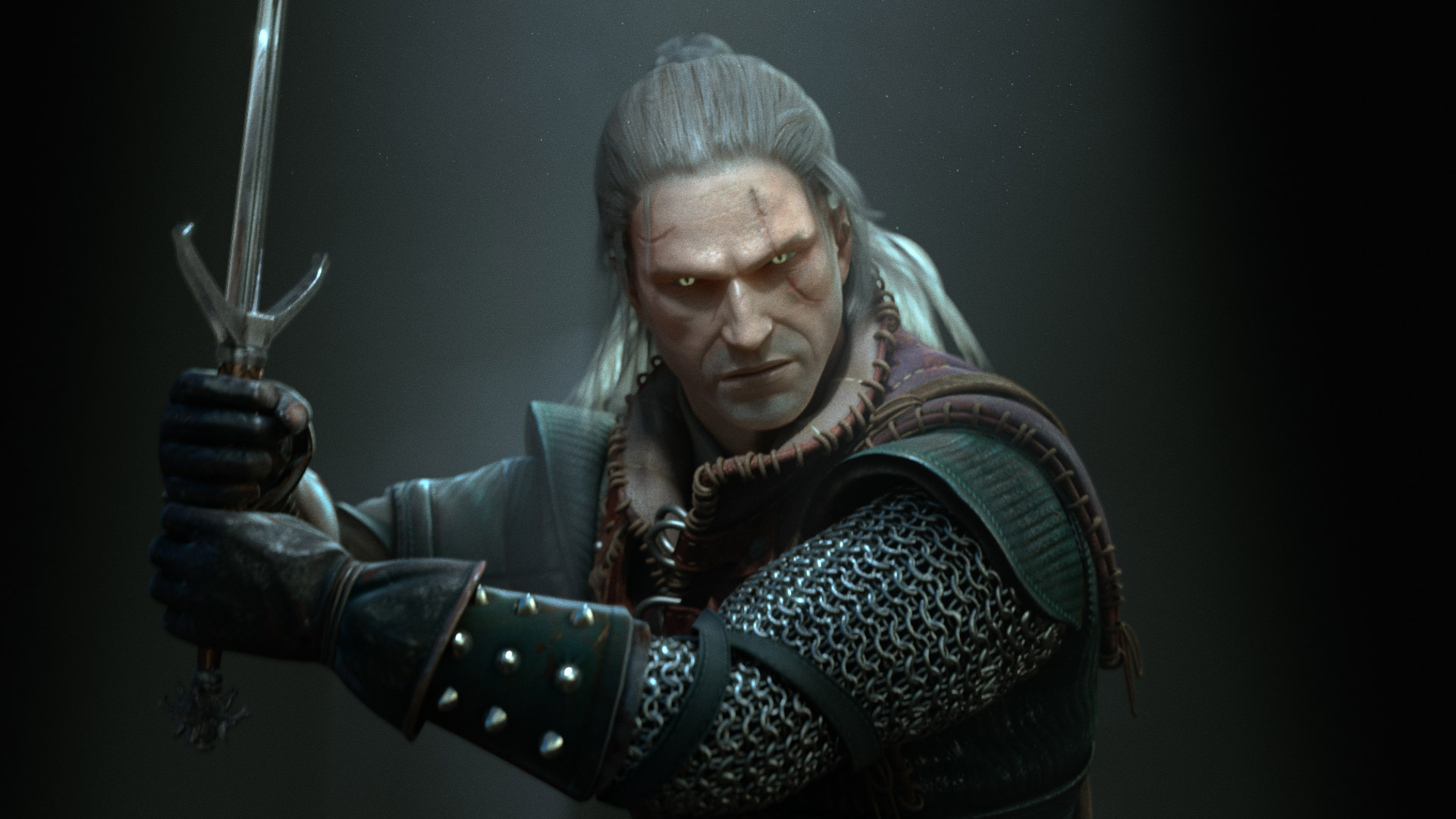 The Witcher 2 Wallpaper in 1920x1080