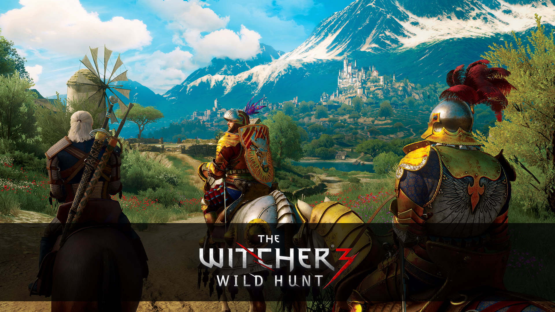 Free The Witcher 3 Wallpaper in 1920x1080