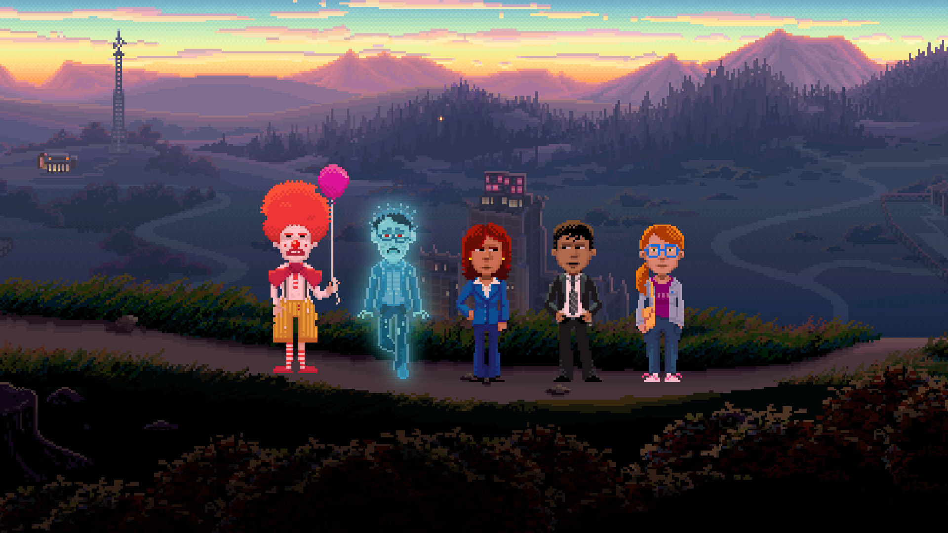 Thimbleweed Park Wallpaper in 1920x1080
