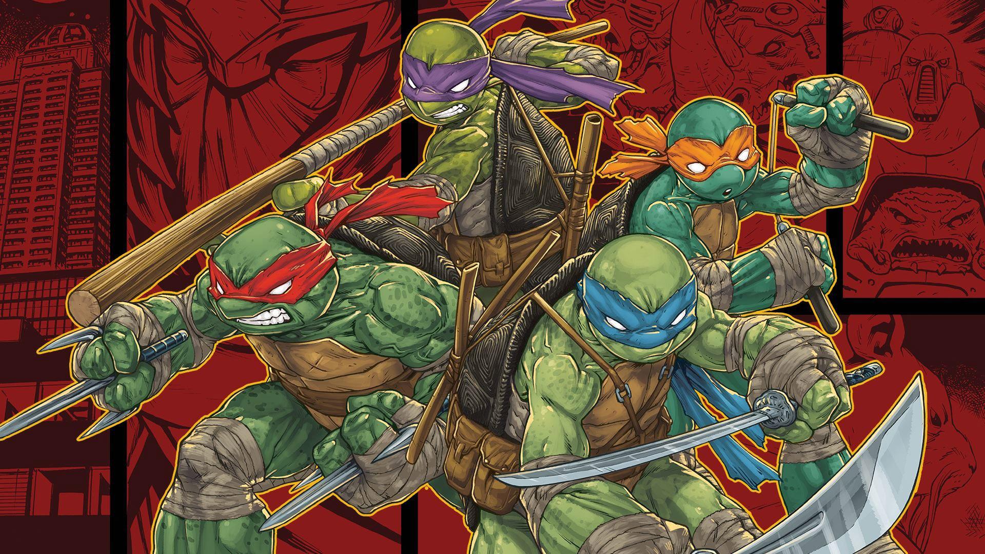 Teenage Mutant Ninja Turtles: Mutants in Manhattan Wallpaper in 1920x1080