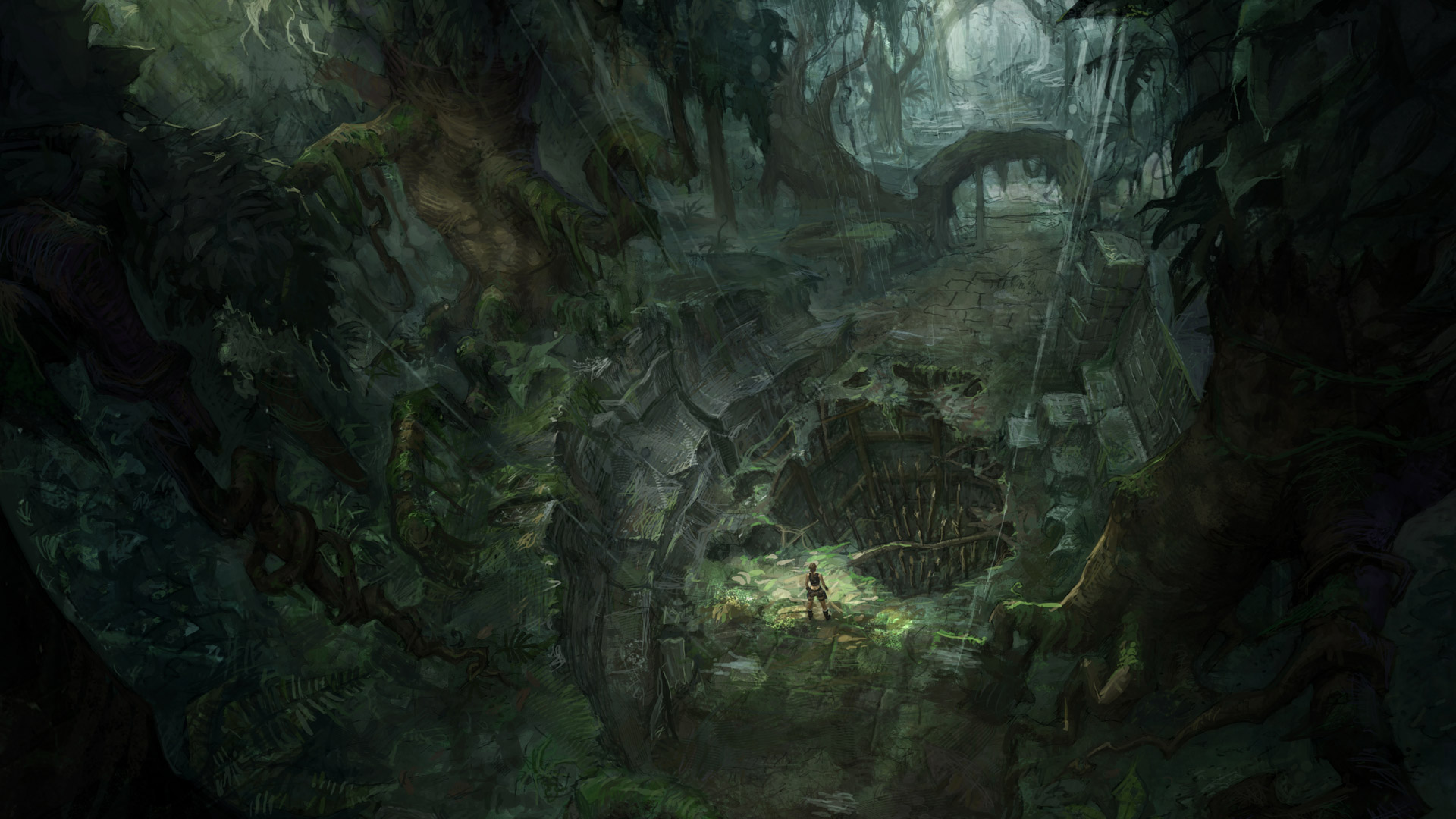 Tomb Raider: Underworld Wallpaper in 1920x1080
