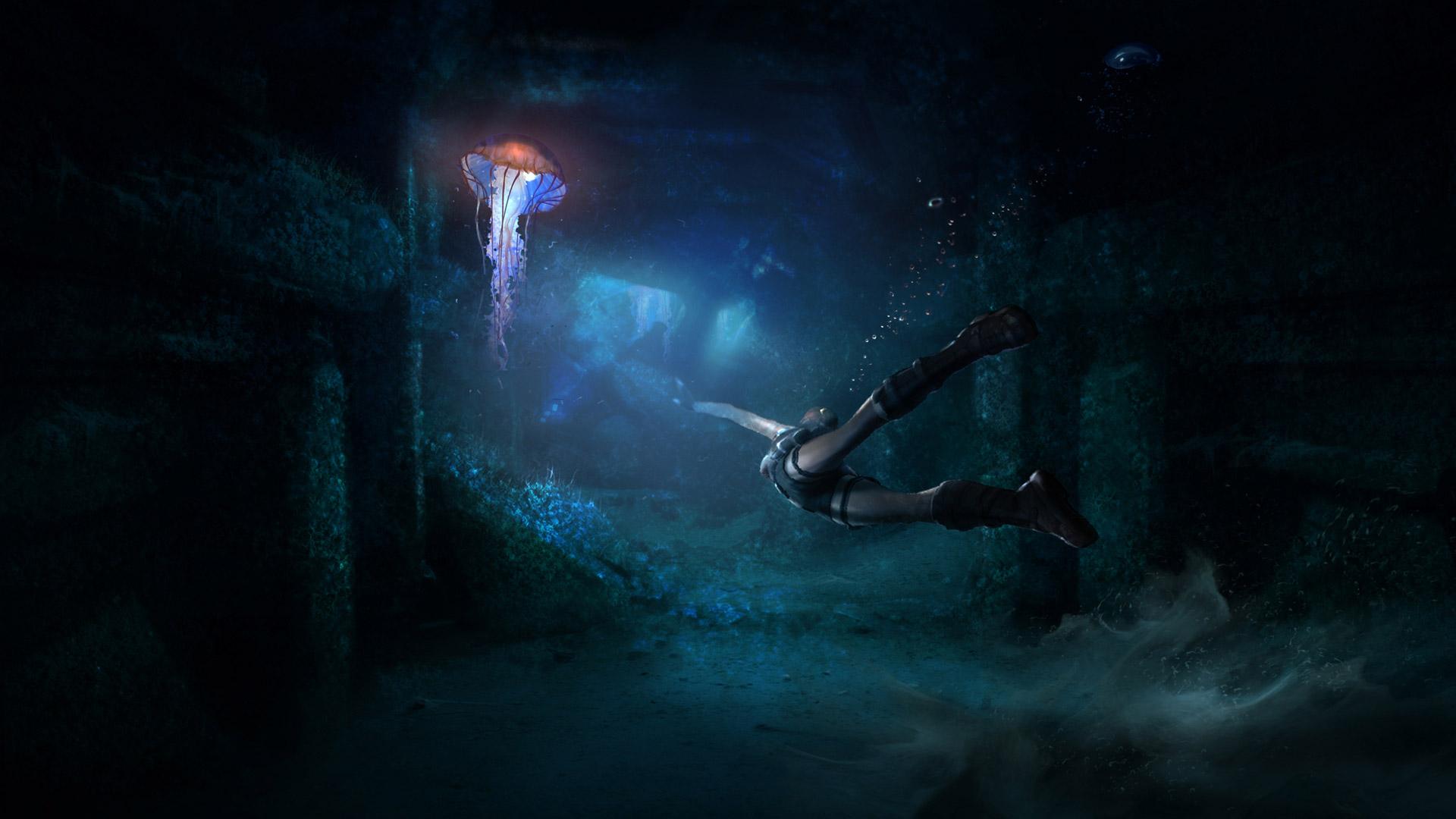 Free Tomb Raider: Underworld Wallpaper in 1920x1080