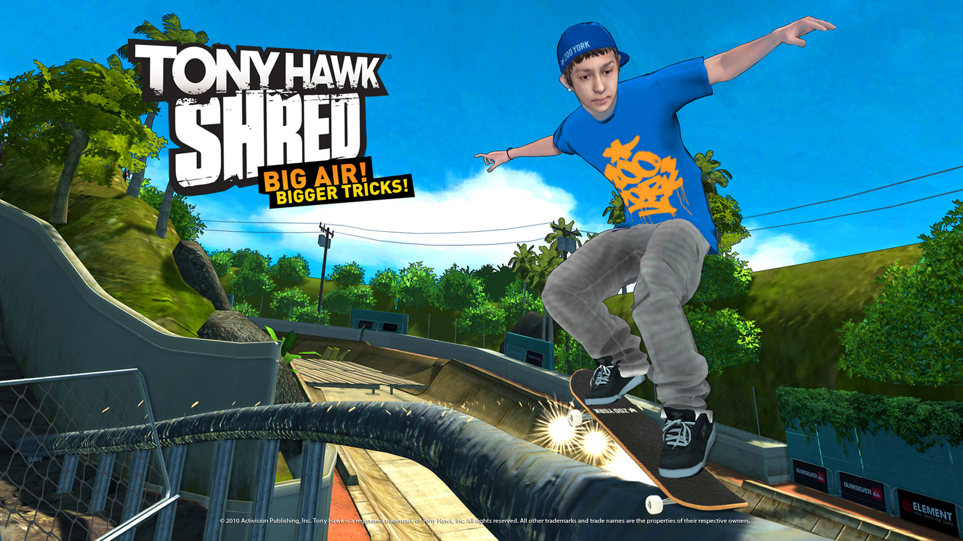 Tony Hawk: Shred Wallpaper in 1920x1080