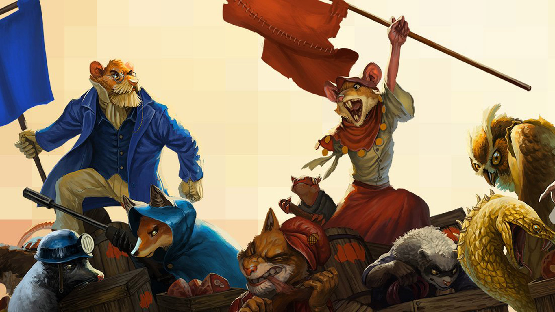 Free Tooth and Tail Wallpaper in 1920x1080