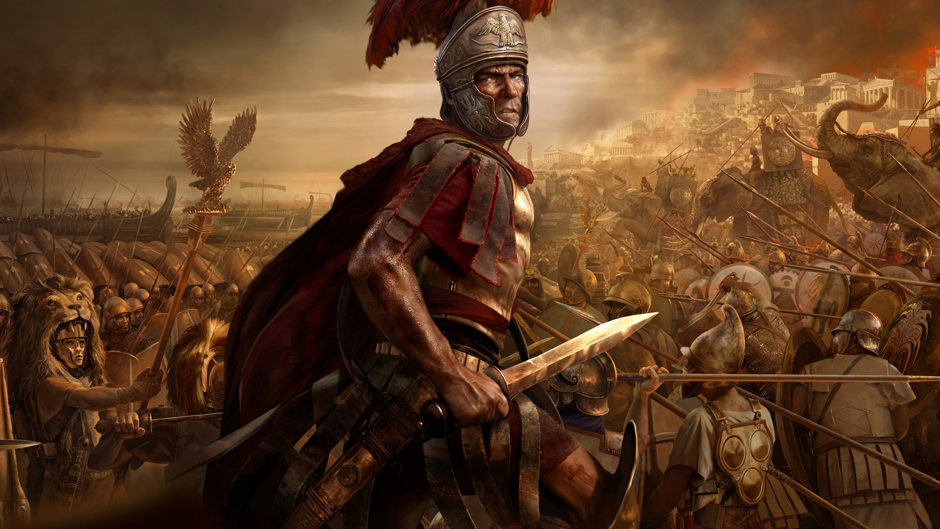 Free Total War: Rome II Wallpaper in 1920x1080