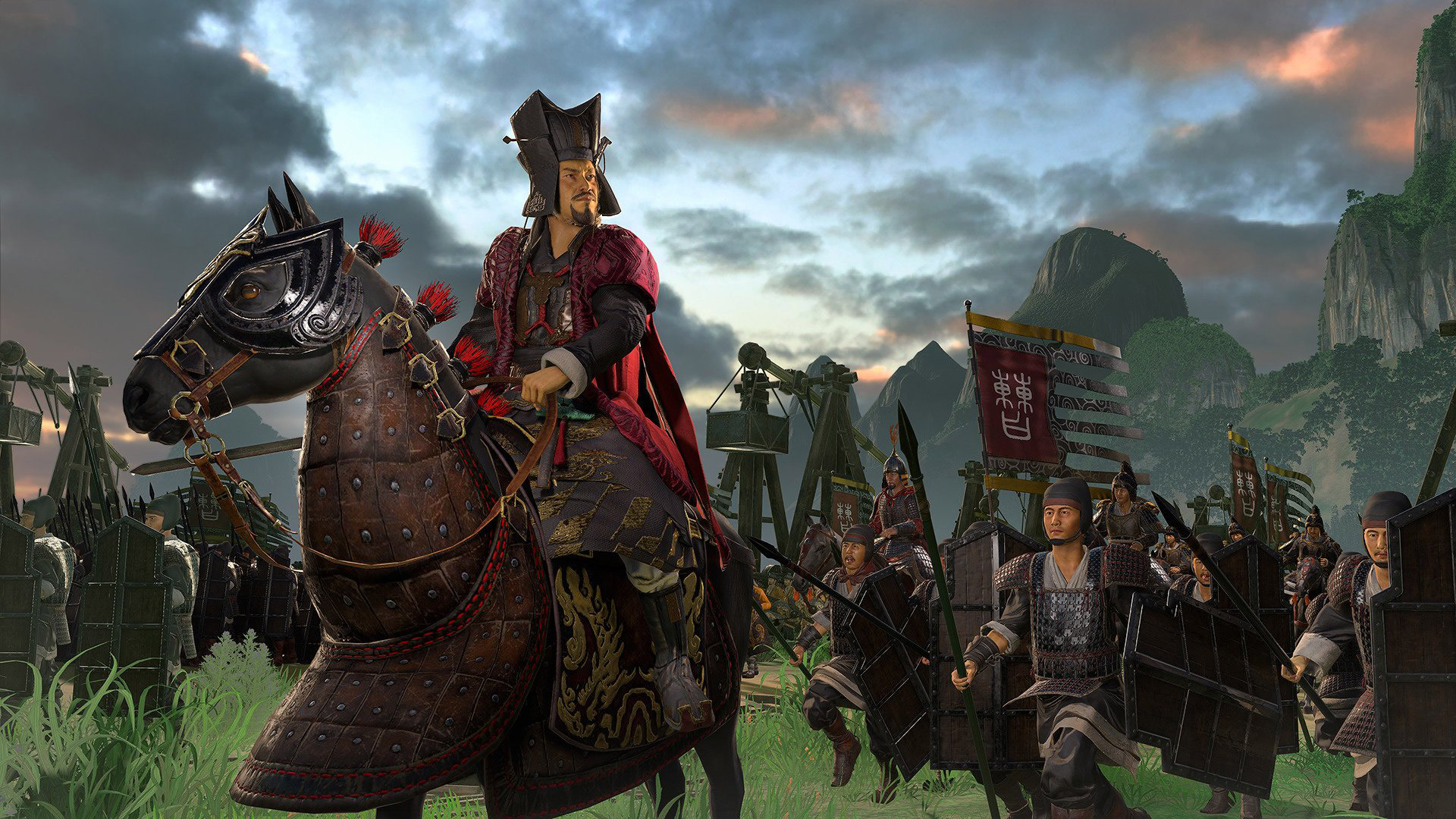 Free Total War: Three Kingdoms Wallpaper in 1920x1080